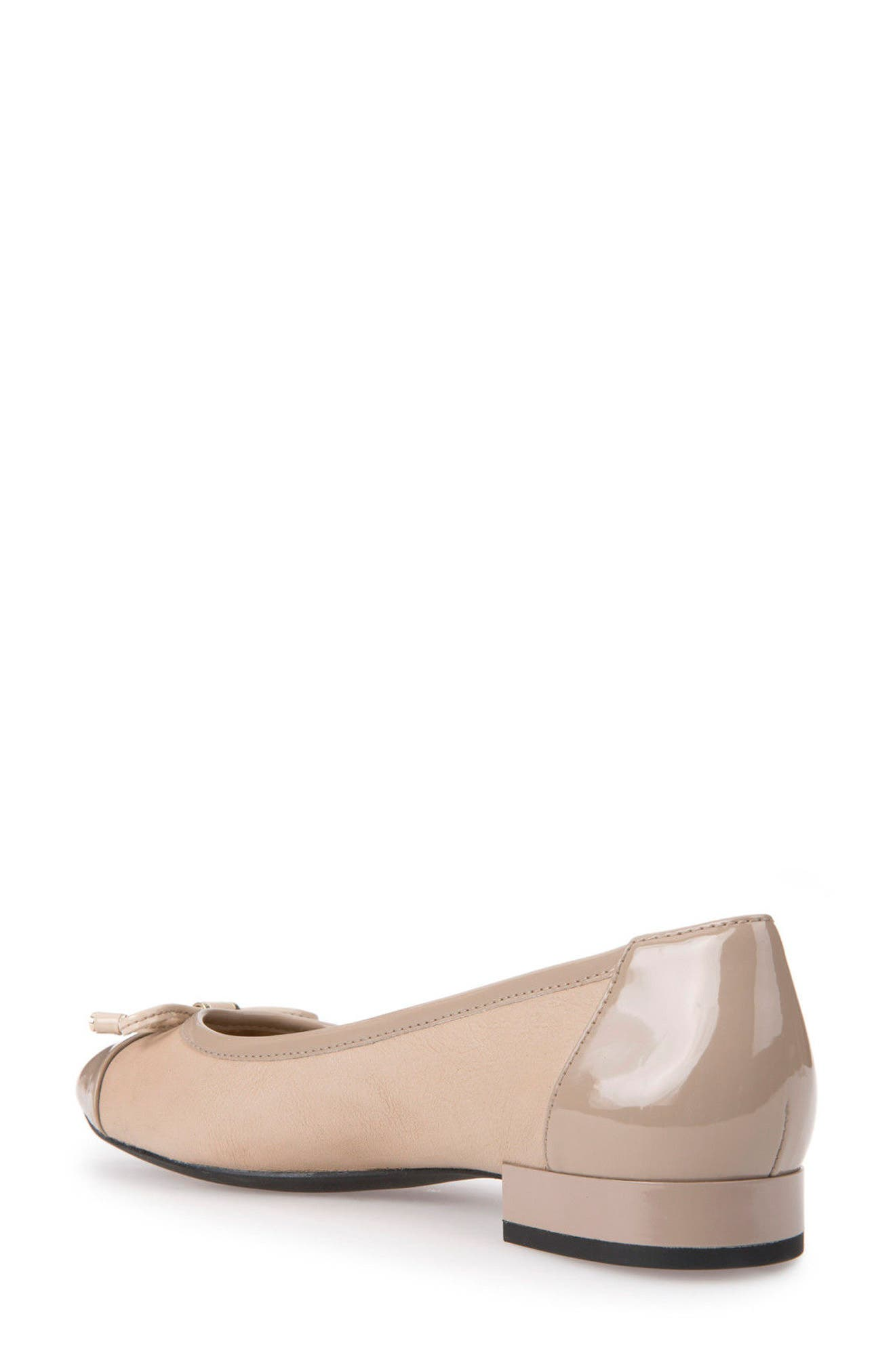 Wistrey Flat,                             Alternate thumbnail 2, color,                             TAUPE LEATHER
