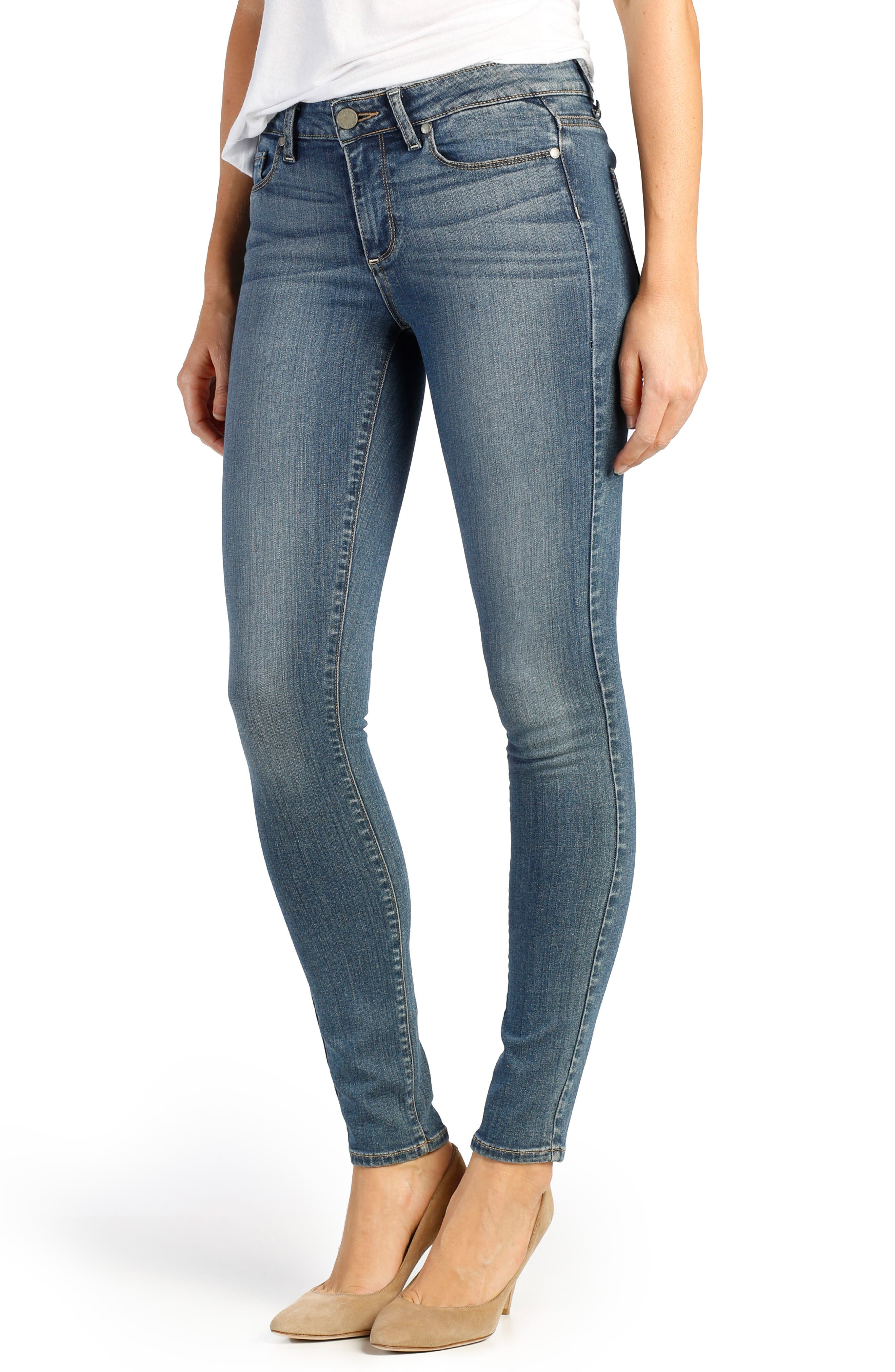 Transcend - Verdugo Ultra Skinny Jeans,                             Main thumbnail 1, color,                             TRISTAN