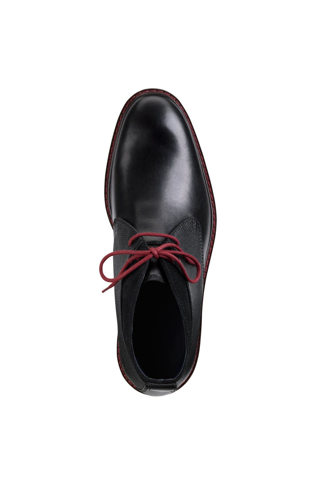 'Colton' Chukka Boot,                             Alternate thumbnail 6, color,                             BLACK