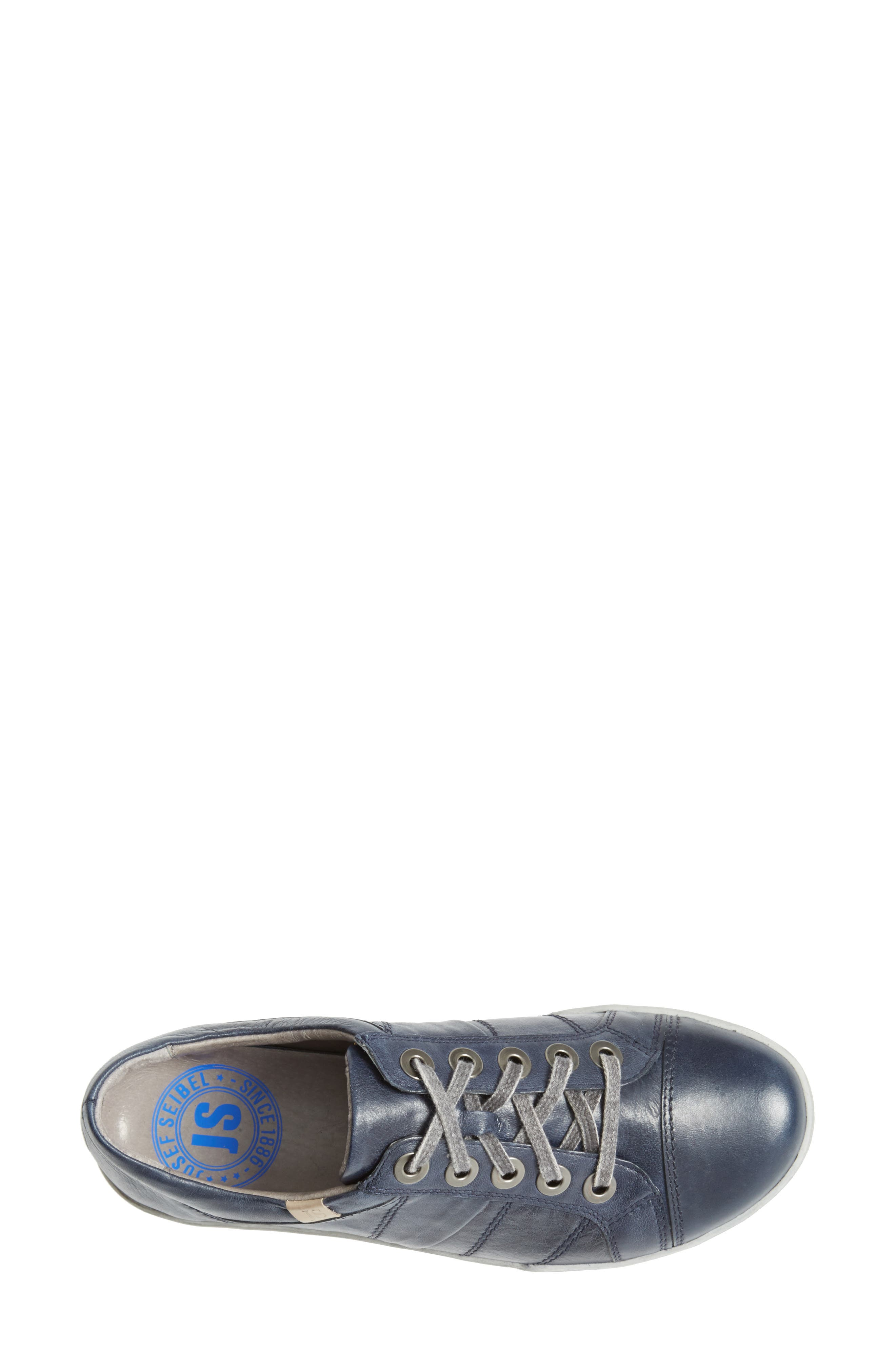 'Dany 05' Leather Sneaker,                             Alternate thumbnail 16, color,