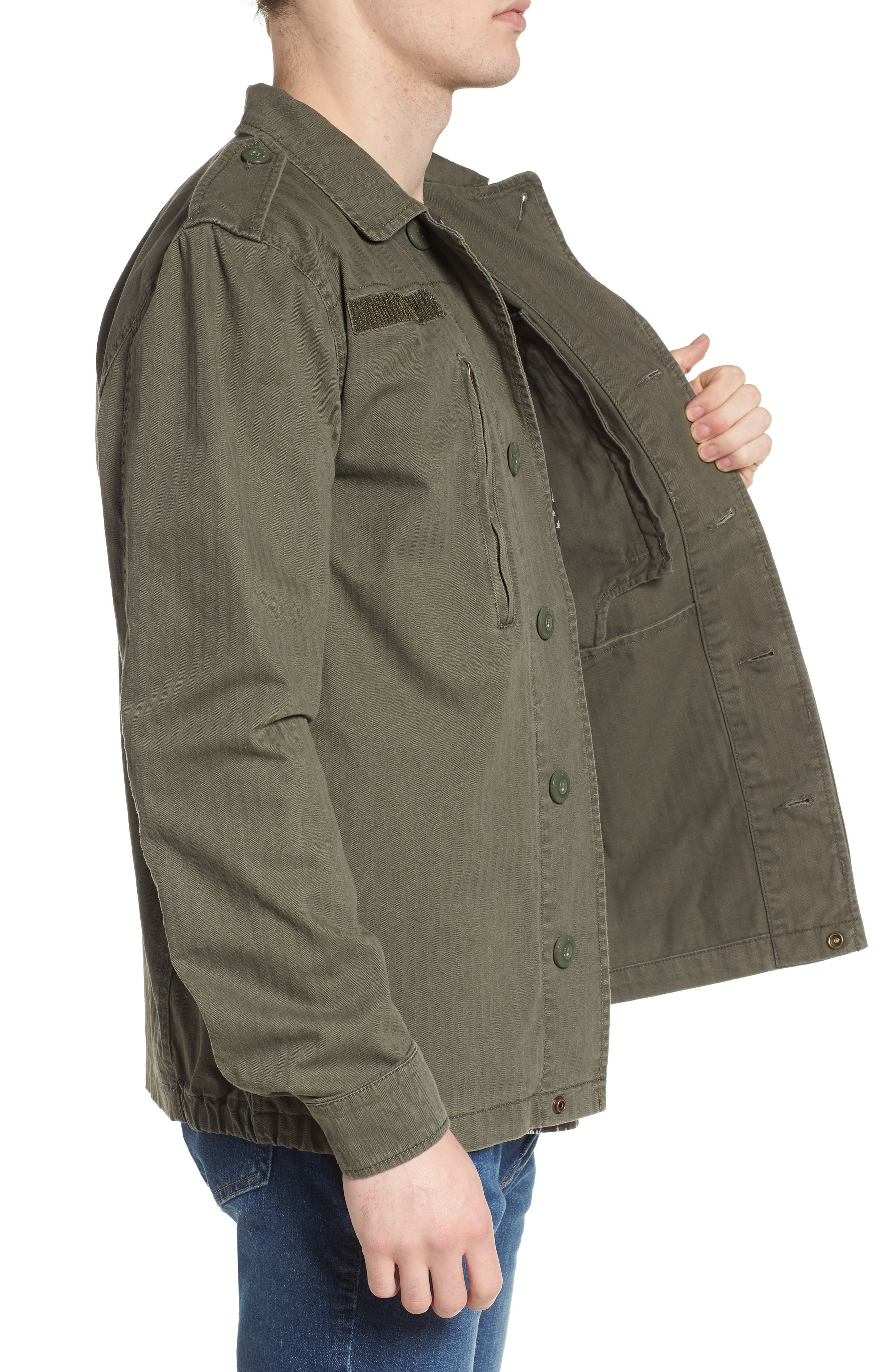 F-2 French Field Jacket,                             Alternate thumbnail 3, color,                             300