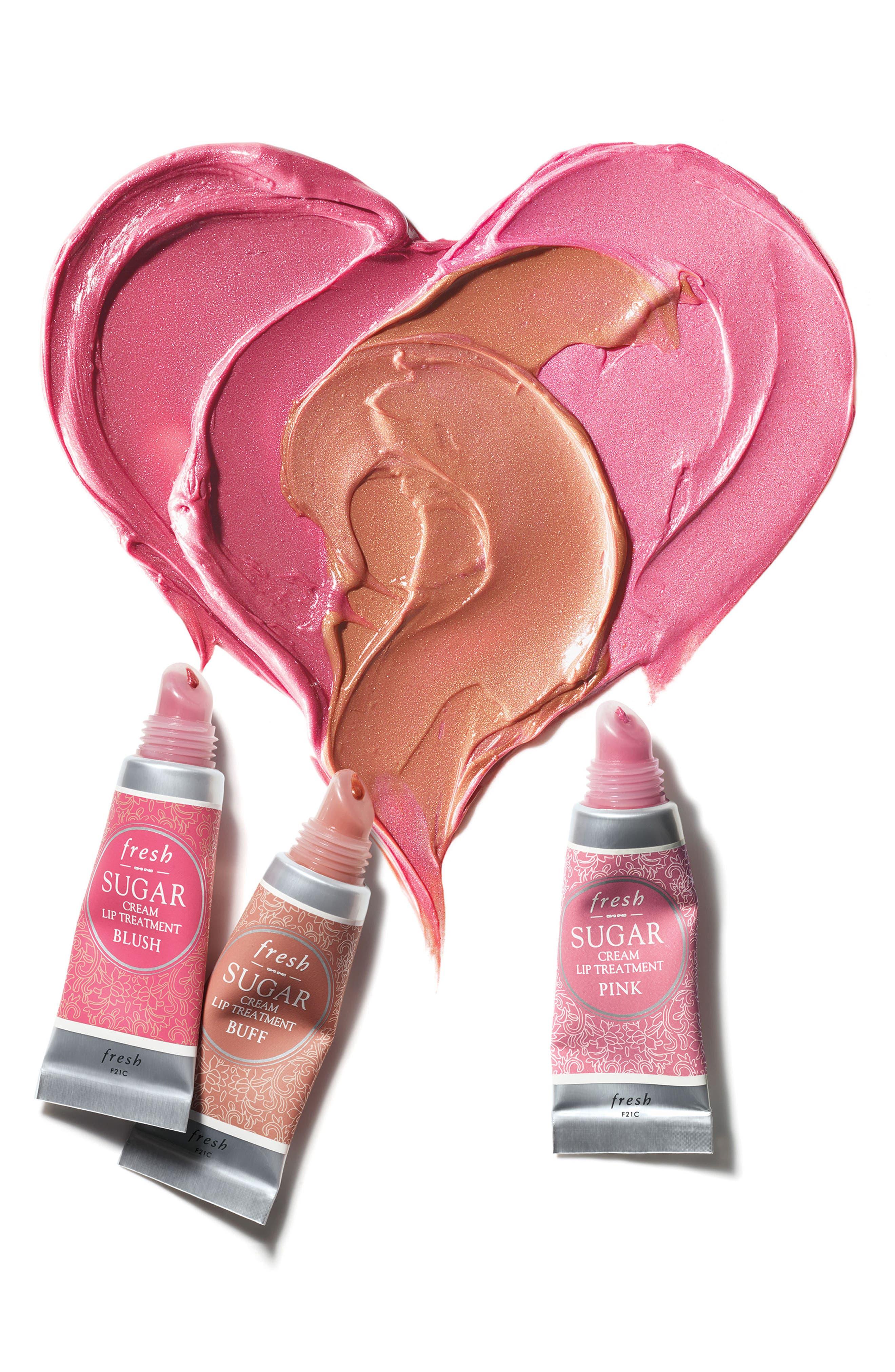 Sugar Cream Lip Treatment,                             Alternate thumbnail 2, color,                             BUFF