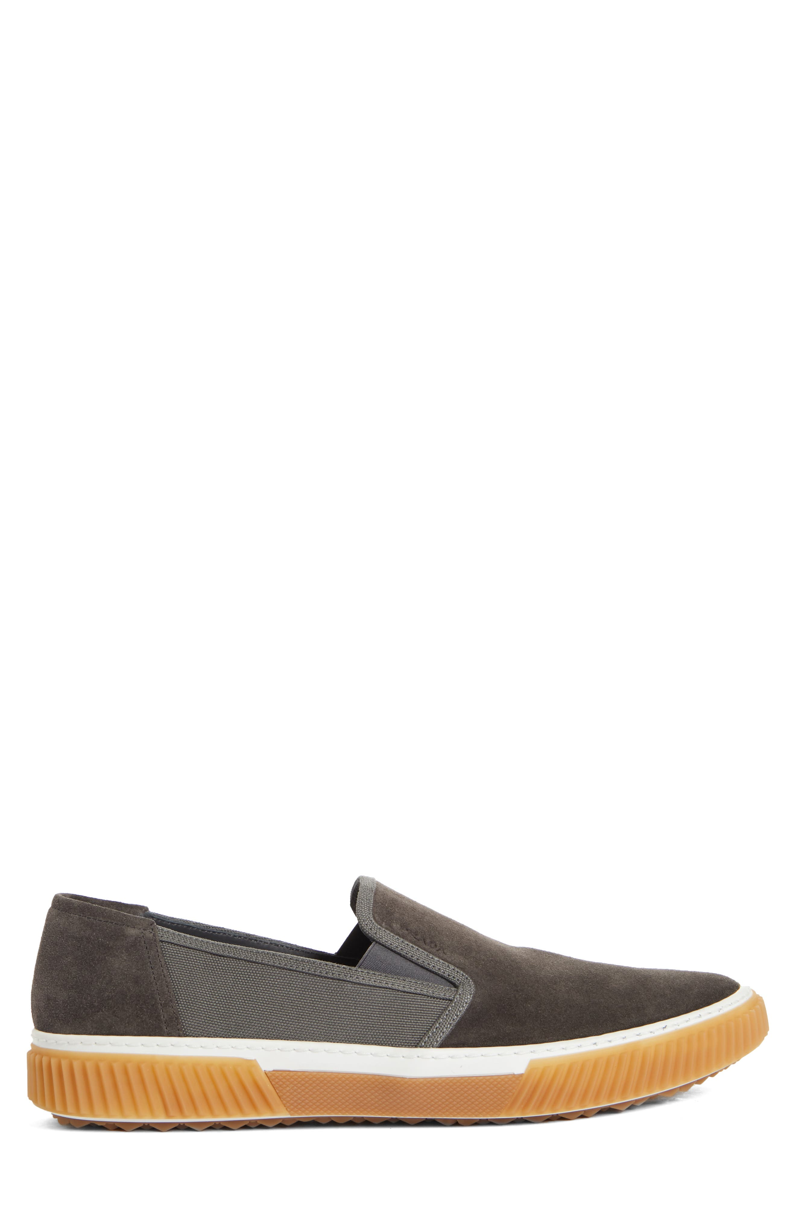 Linea Rossa Slip-On,                             Alternate thumbnail 3, color,                             GREY