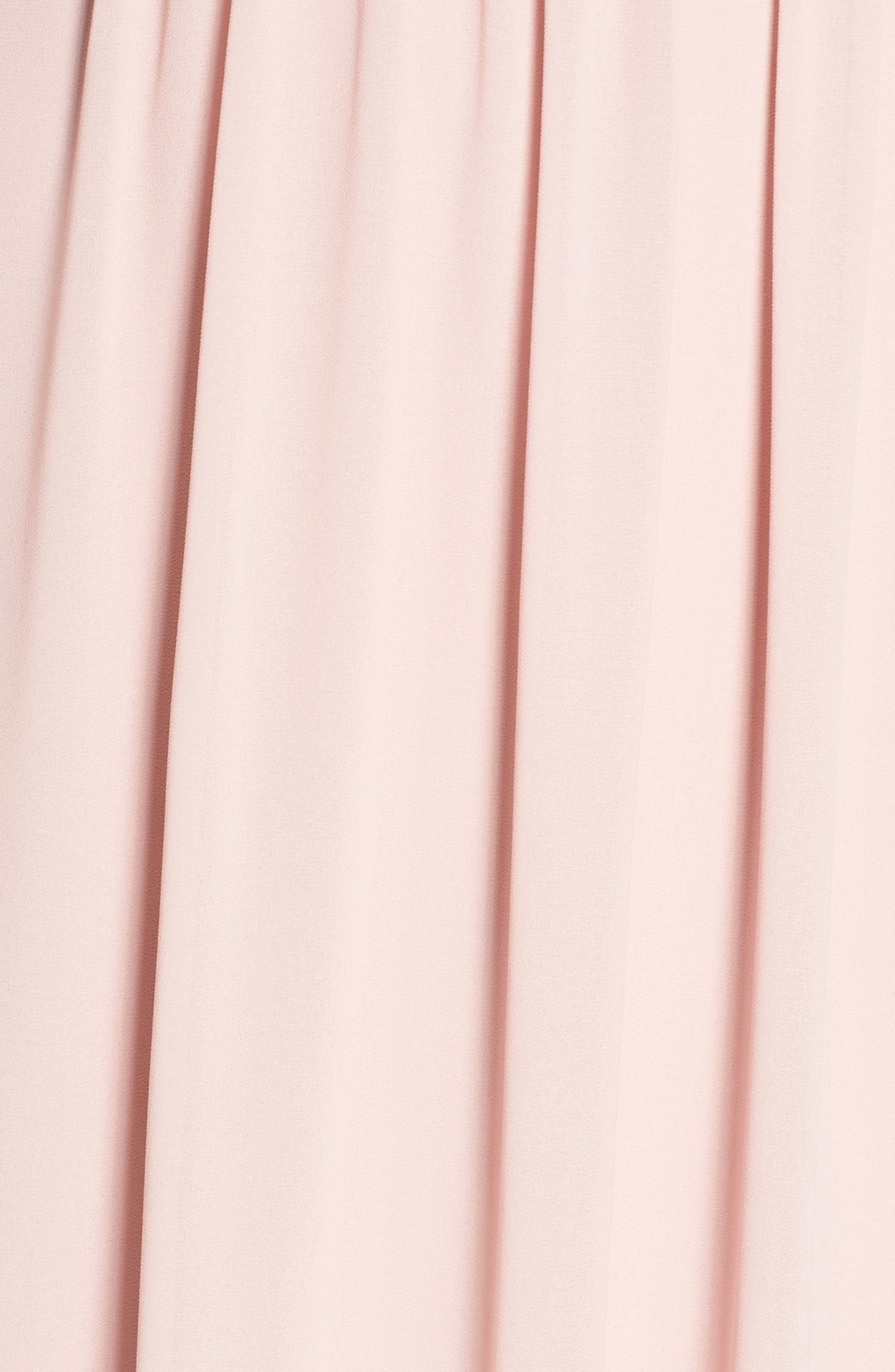 Sallie Open Back Chiffon Gown,                             Alternate thumbnail 6, color,