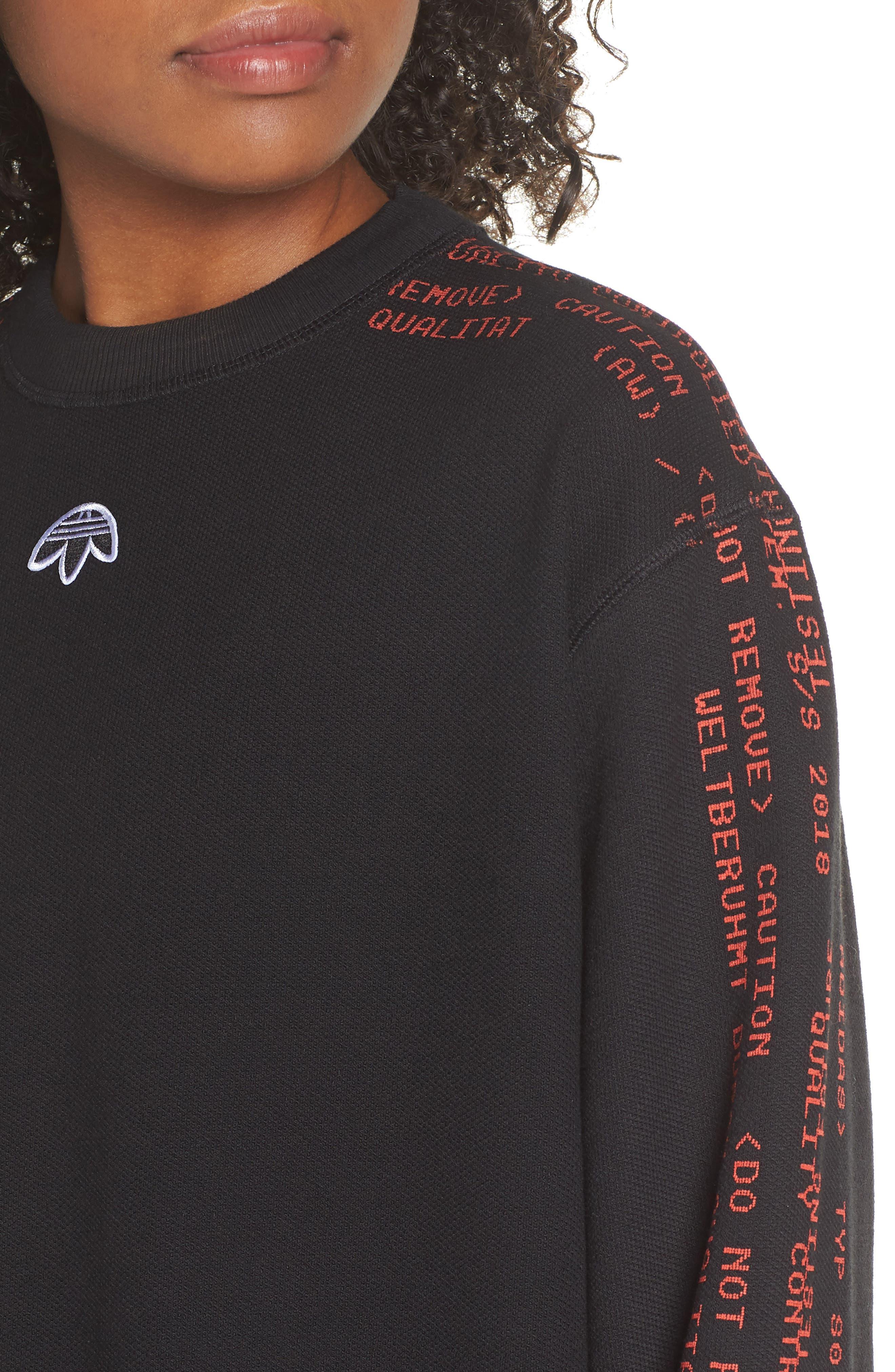 Sweatshirt,                             Alternate thumbnail 4, color,                             001