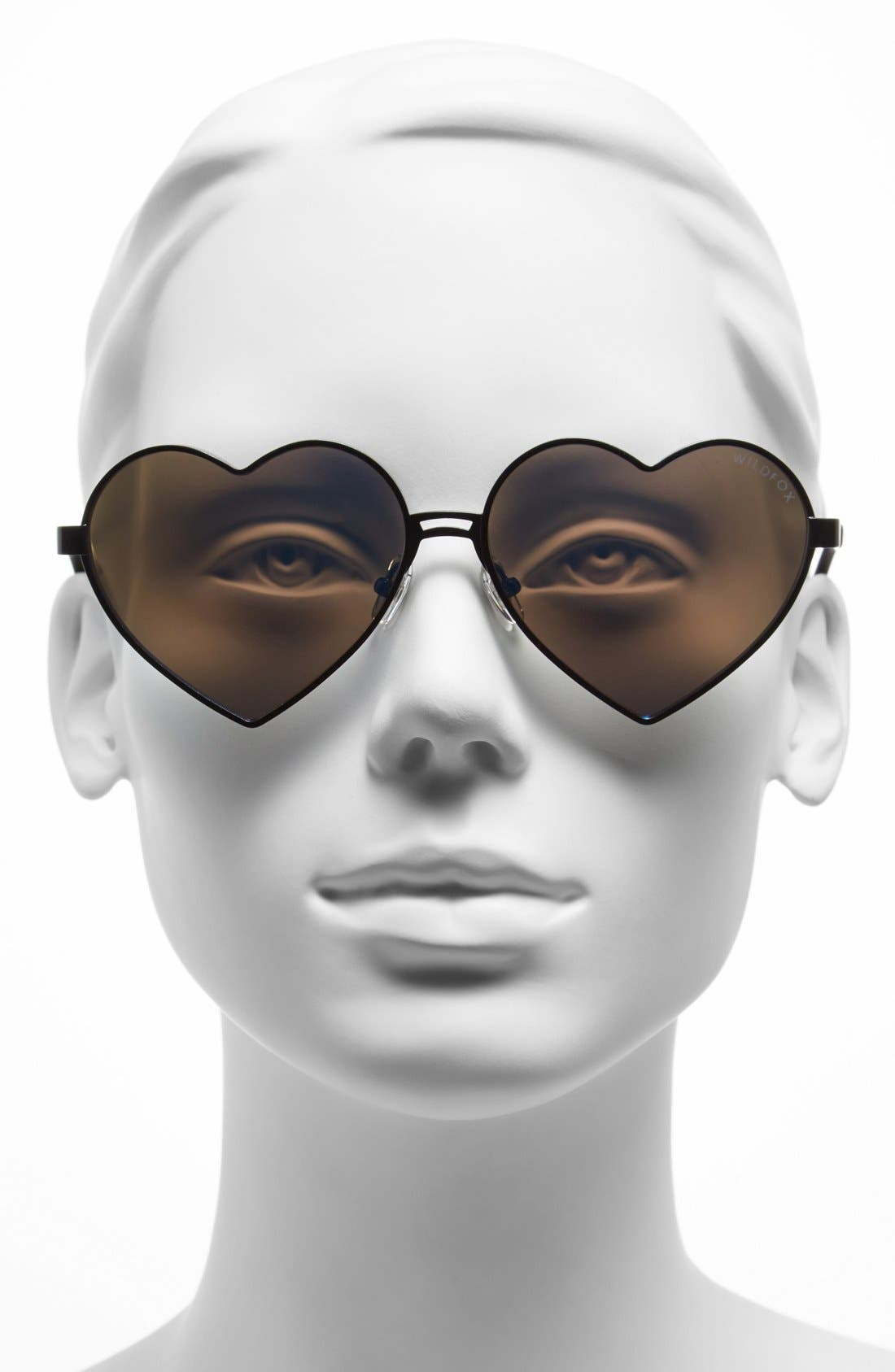 'Lolita Deluxe' 59mm Sunglasses,                             Alternate thumbnail 2, color,                             001