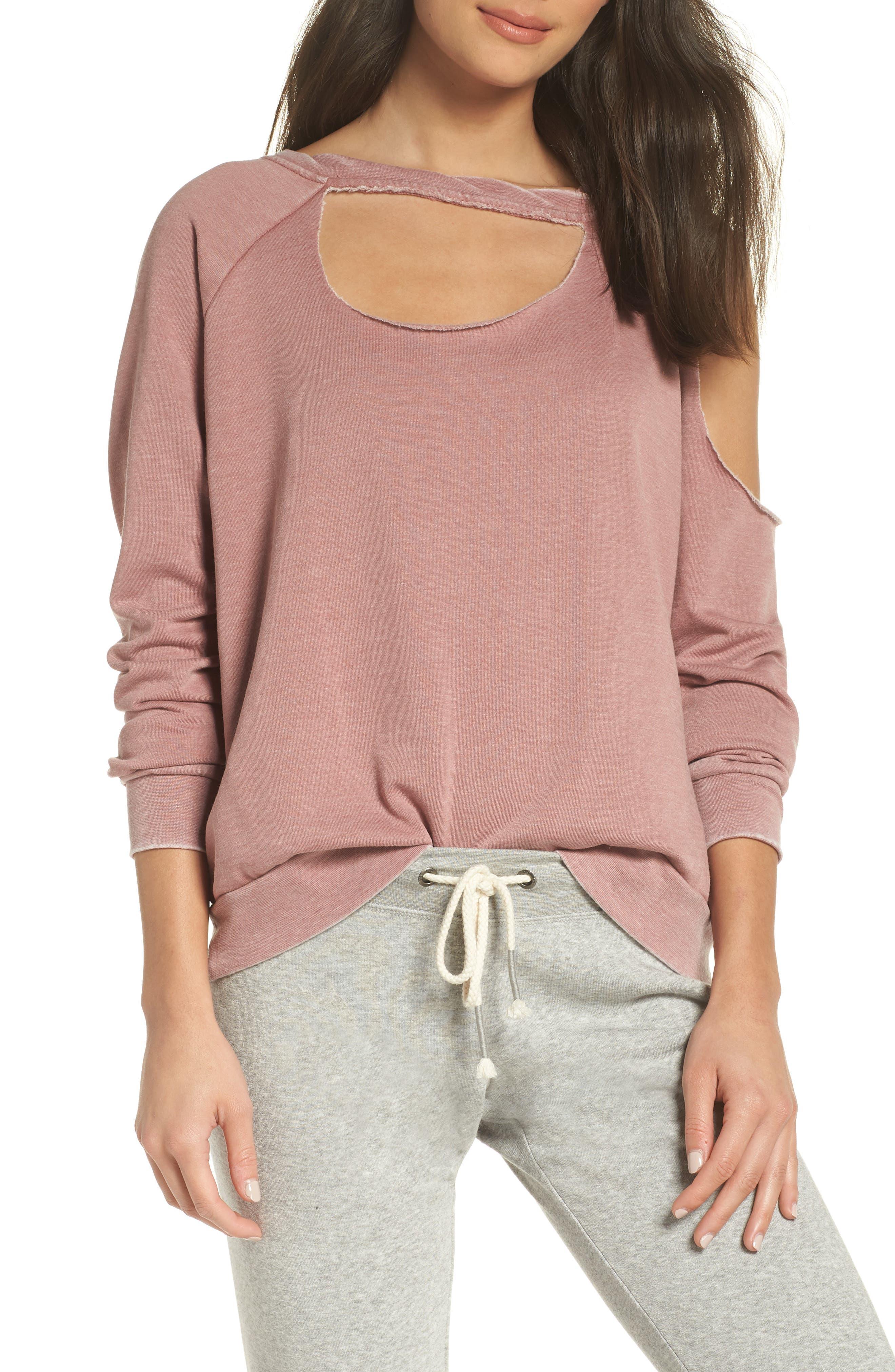 Colder Destroyed Sweatshirt,                         Main,                         color, 930