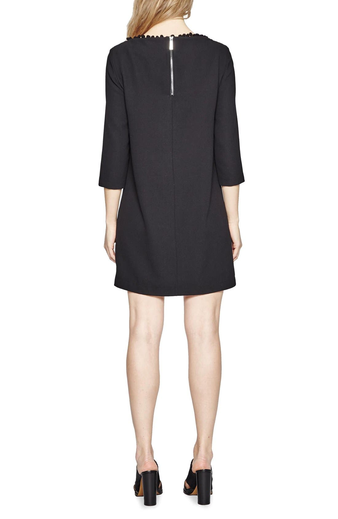 FRENCH CONNECTION,                             Arrow Dress,                             Alternate thumbnail 2, color,                             001