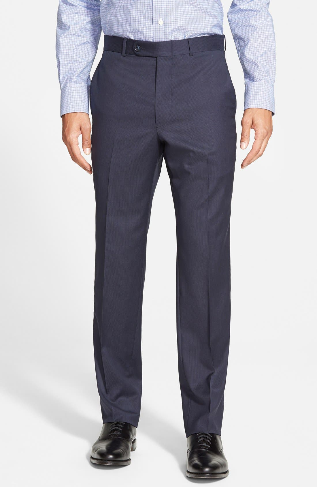 'Flynn' Classic Fit Wool Suit,                             Alternate thumbnail 4, color,                             410