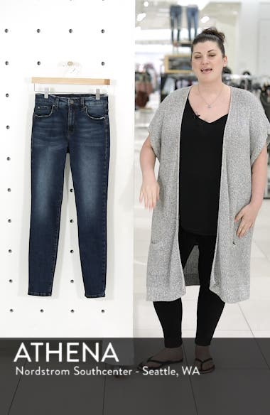 High Rise Skinny Ankle Jeans, sales video thumbnail