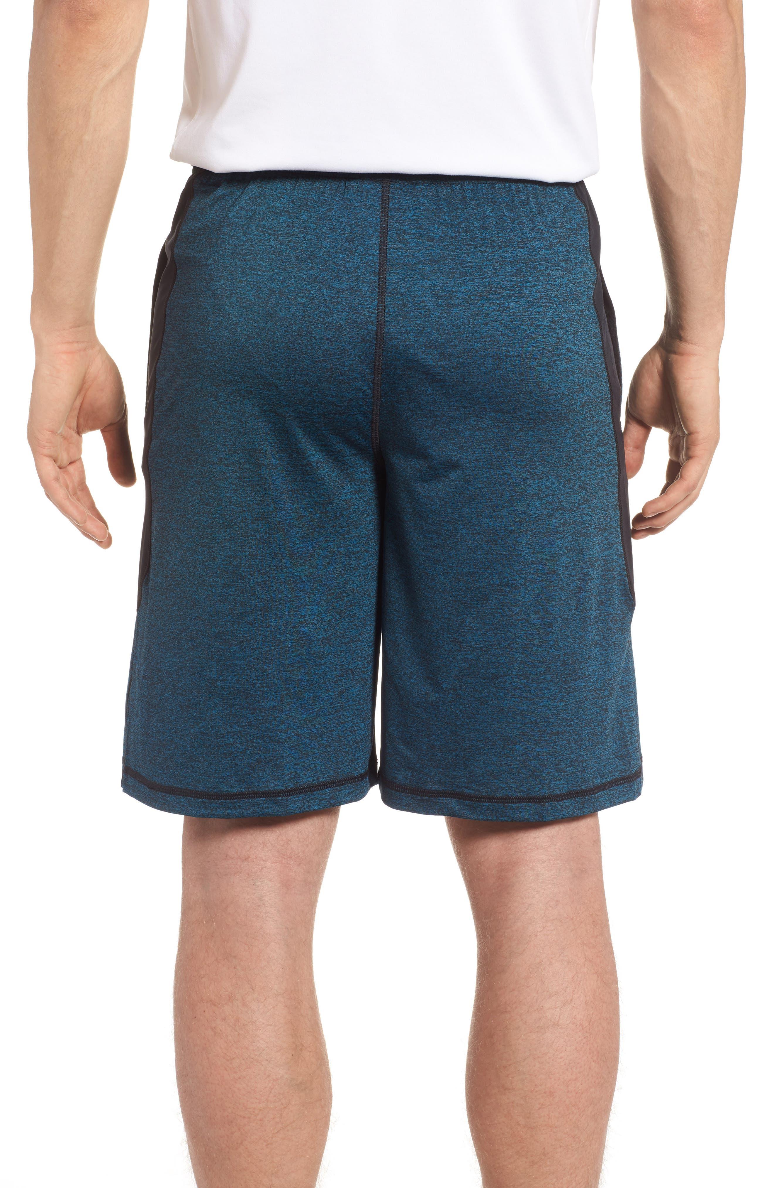 'Raid' HeatGear<sup>®</sup> Loose Fit Athletic Shorts,                             Alternate thumbnail 2, color,                             405