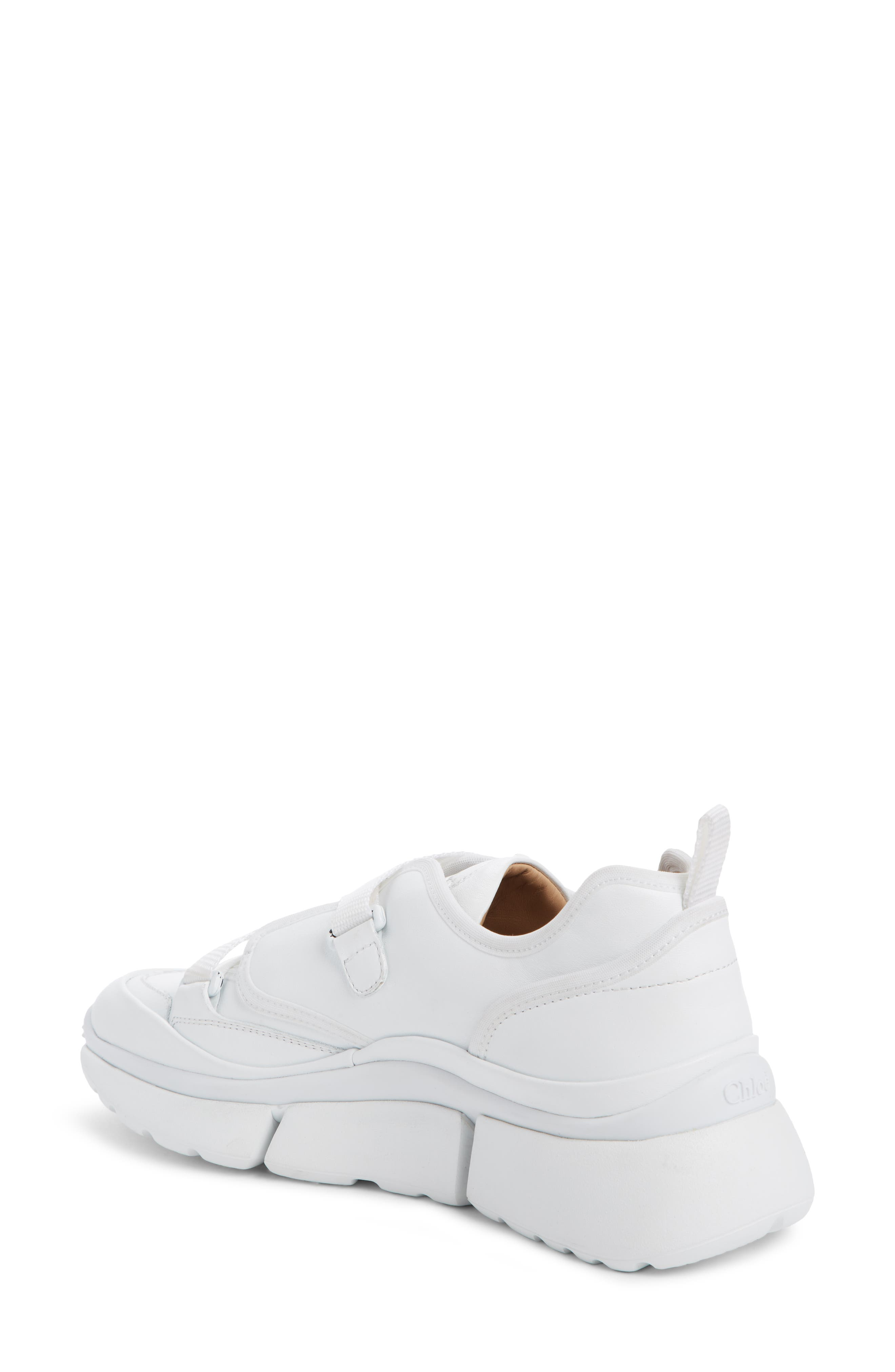 Sonnie Sneaker,                             Alternate thumbnail 2, color,                             WHITE LEATHER