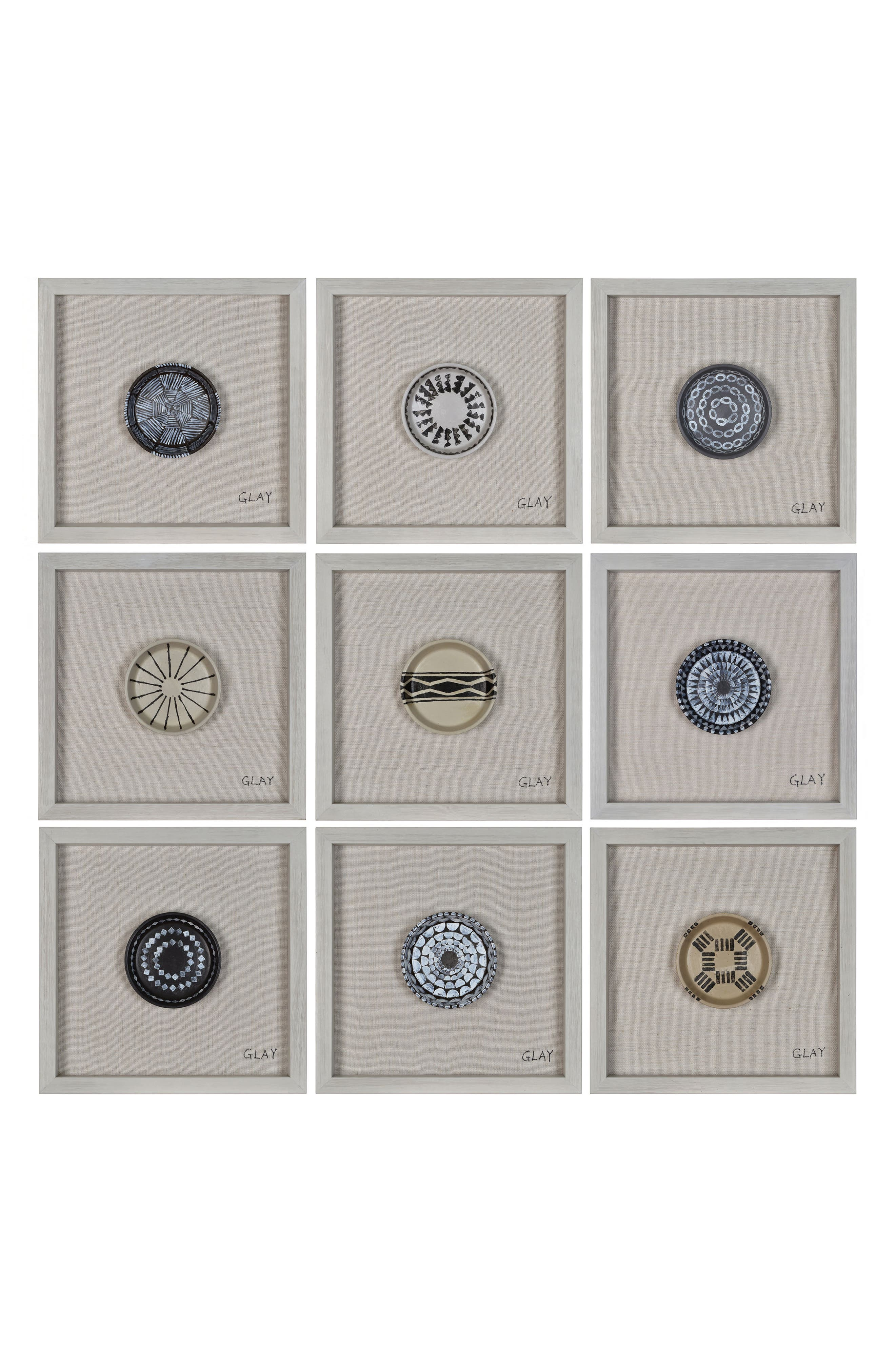 Buttons Wall Decor,                             Main thumbnail 1, color,                             250