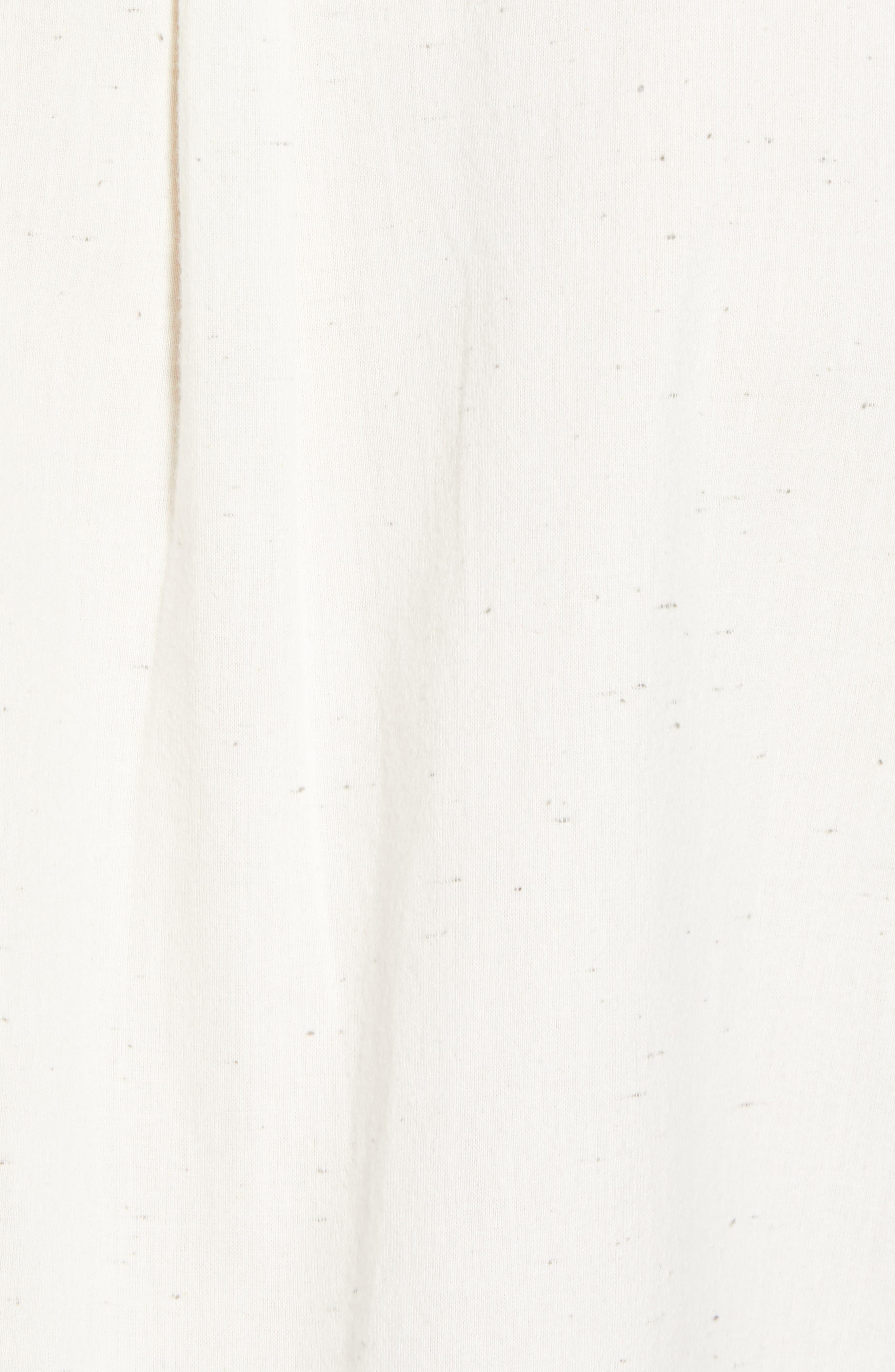 Charter Regular Fit Short Sleeve Sport Shirt,                             Alternate thumbnail 5, color,                             WHITE