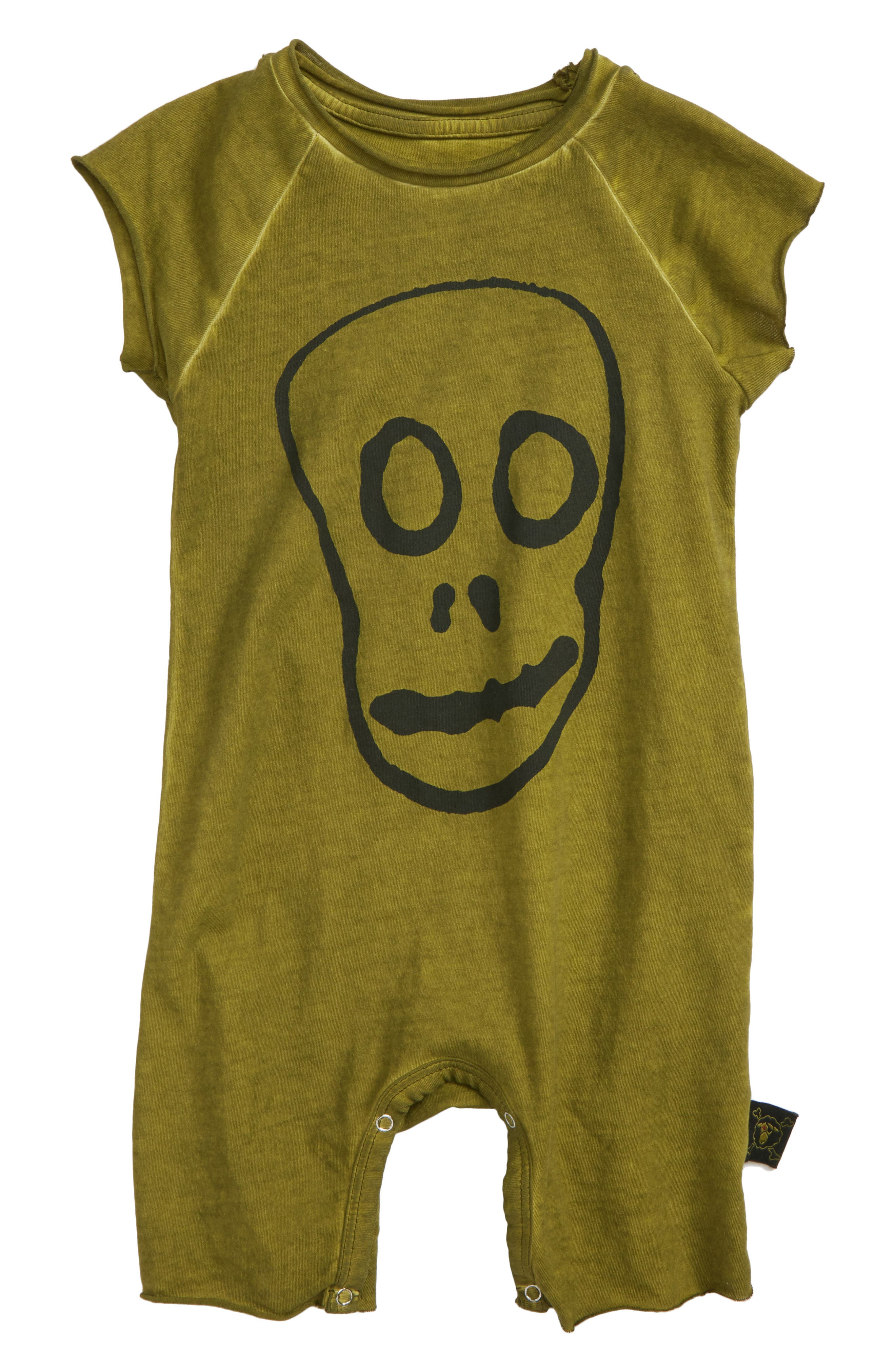 Skull Mask Romper,                             Main thumbnail 1, color,                             301