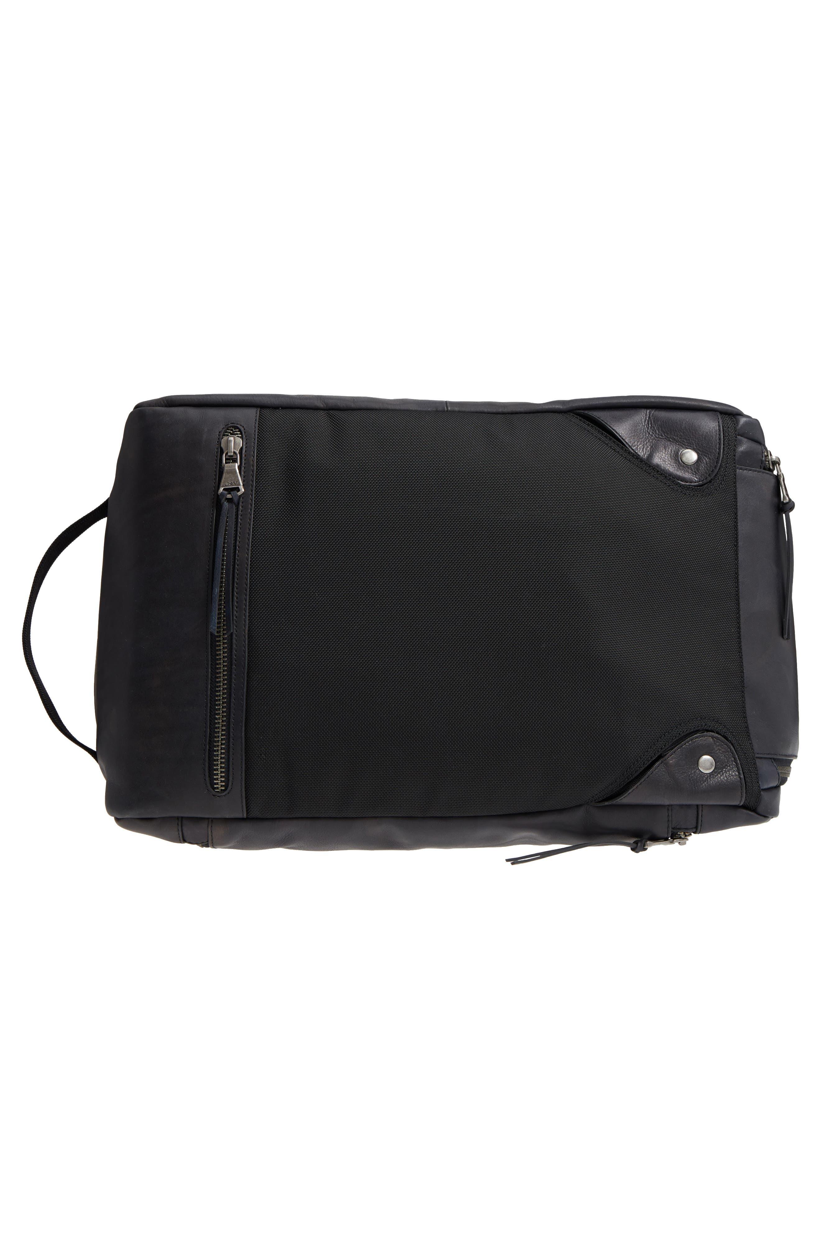 Brooklyn Suede Convertible Duffel Bag,                             Alternate thumbnail 14, color,