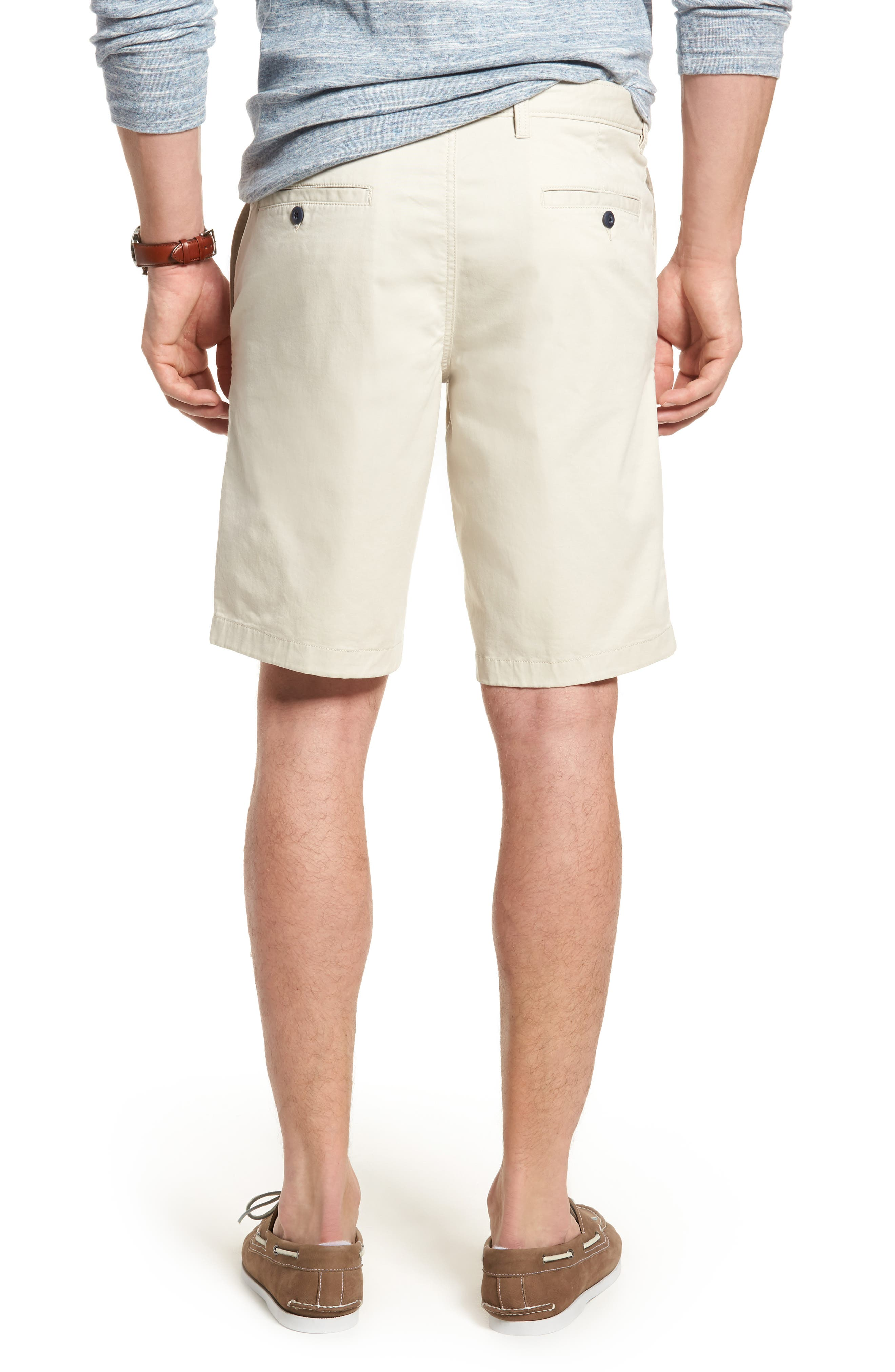 Ballard Slim Fit Stretch Chino 11-Inch Shorts,                             Alternate thumbnail 23, color,