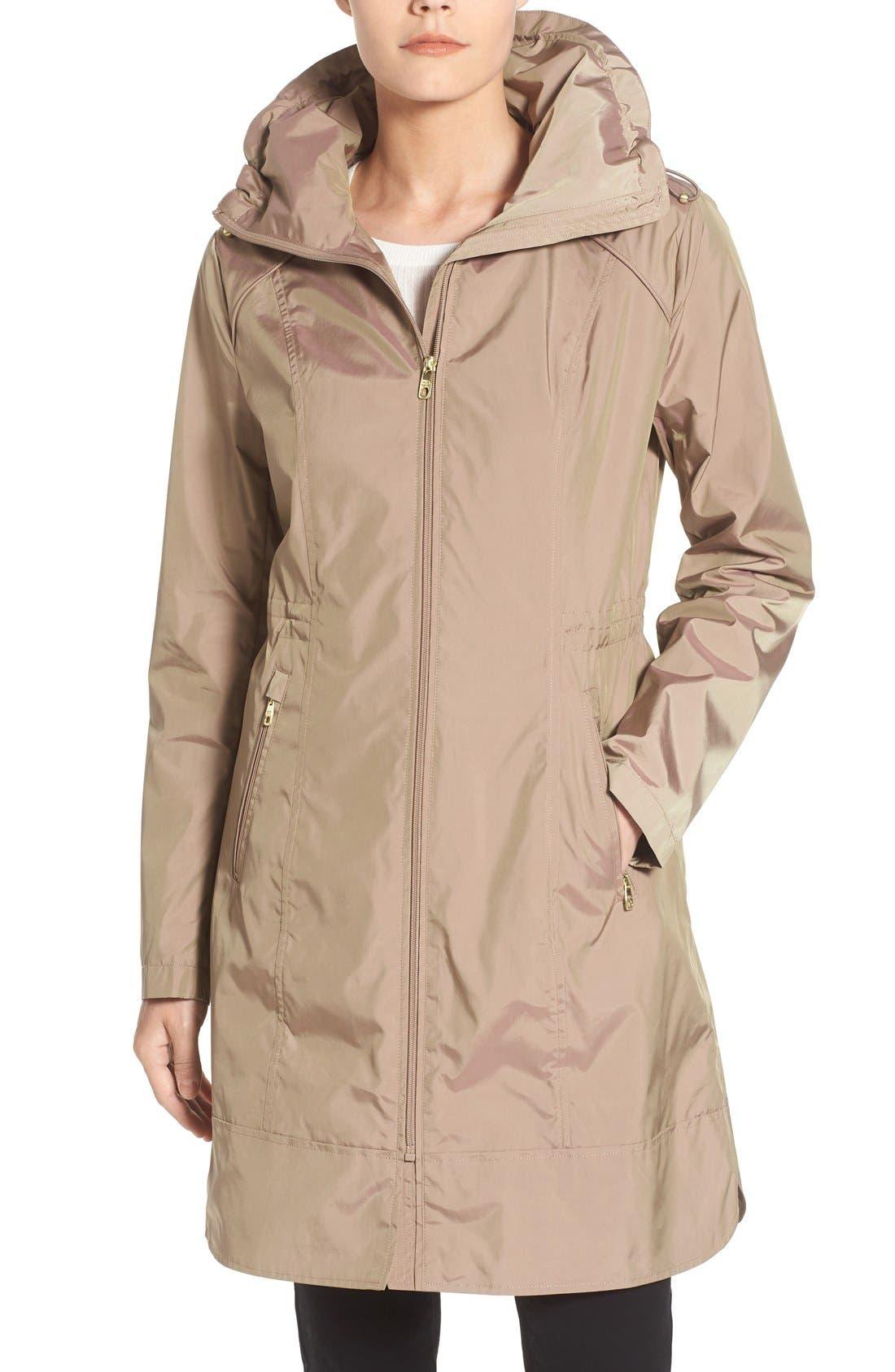 Packable Rain Jacket,                             Main thumbnail 3, color,