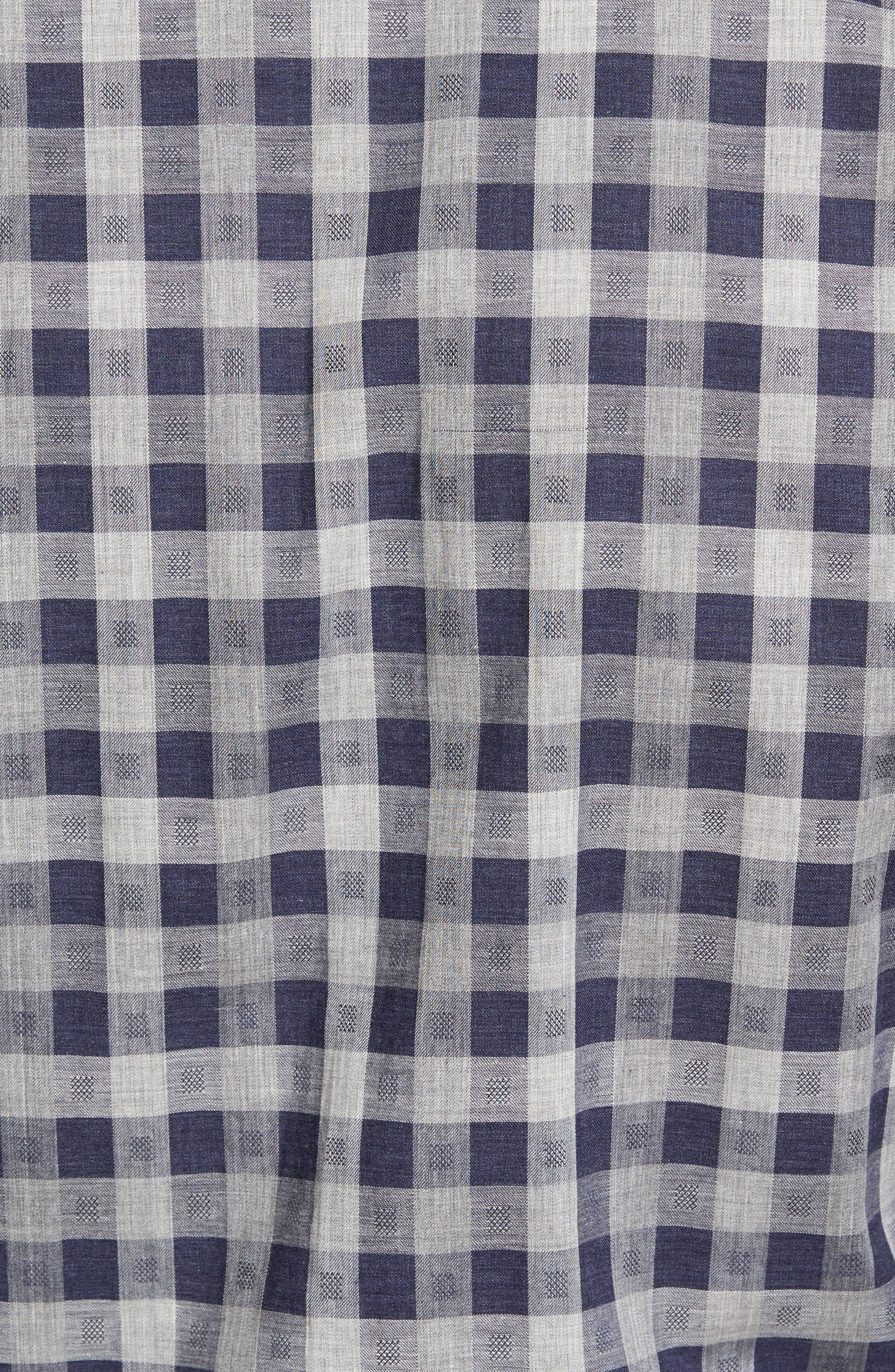 Regular Fit Check Sport Shirt,                             Alternate thumbnail 5, color,                             410