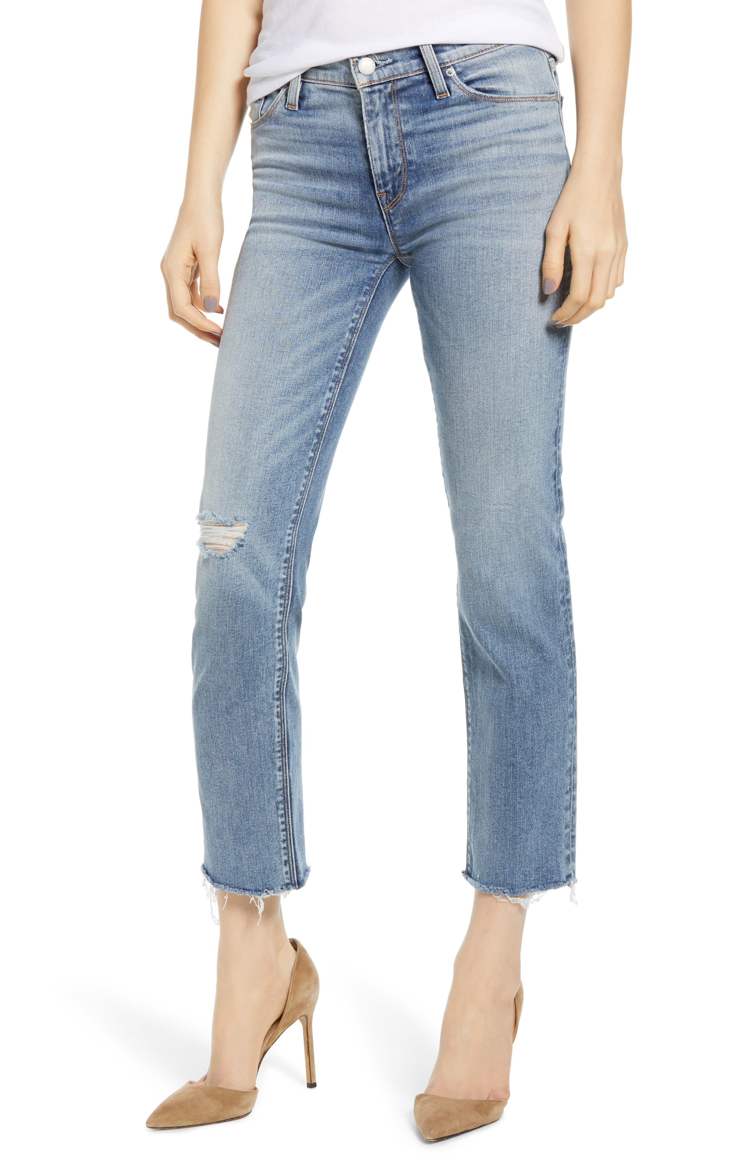 Women's Hudson Jeans Nico Straight Ankle Jeans