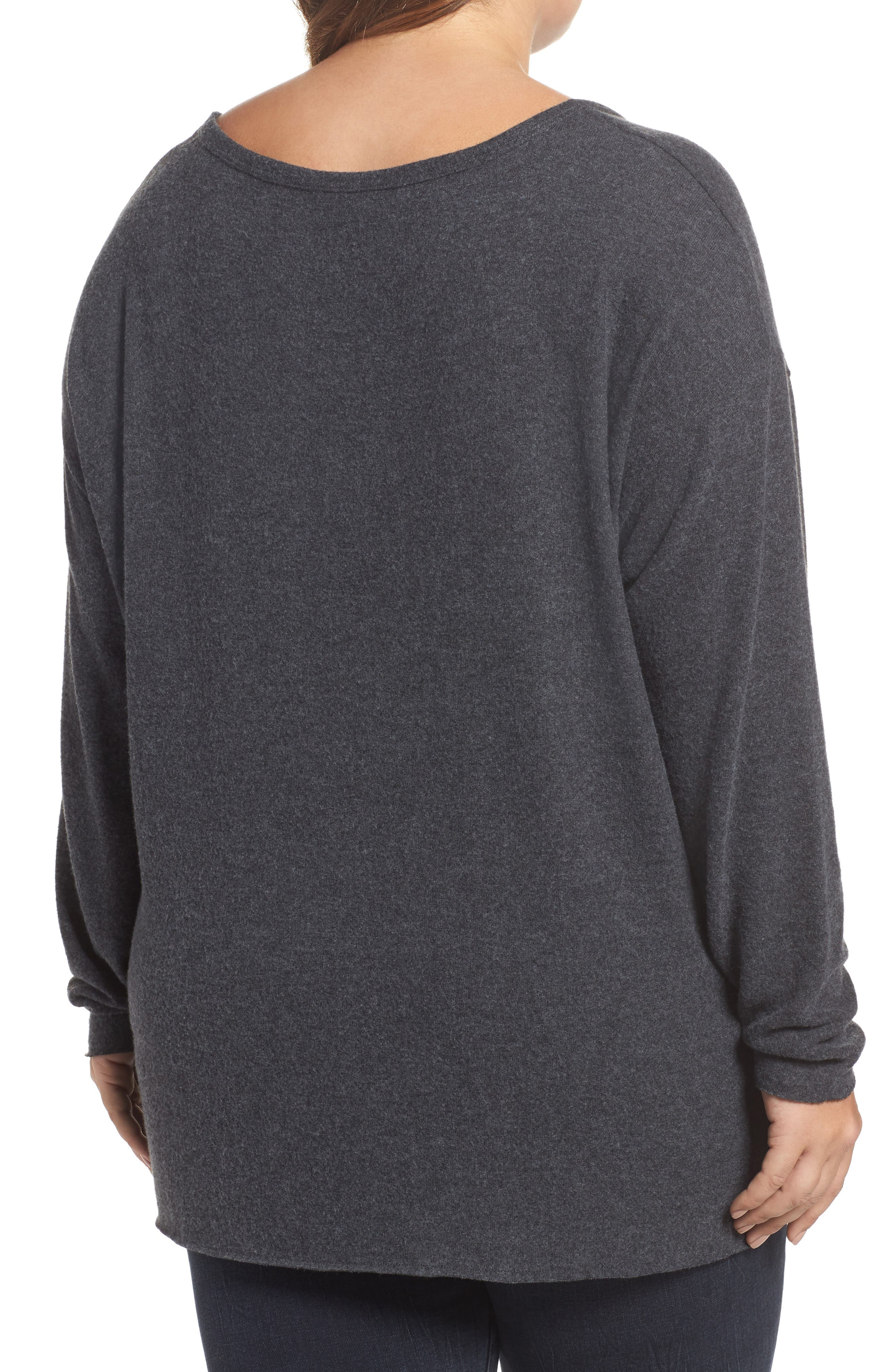 Drop Shoulder Pocket Top,                             Alternate thumbnail 5, color,