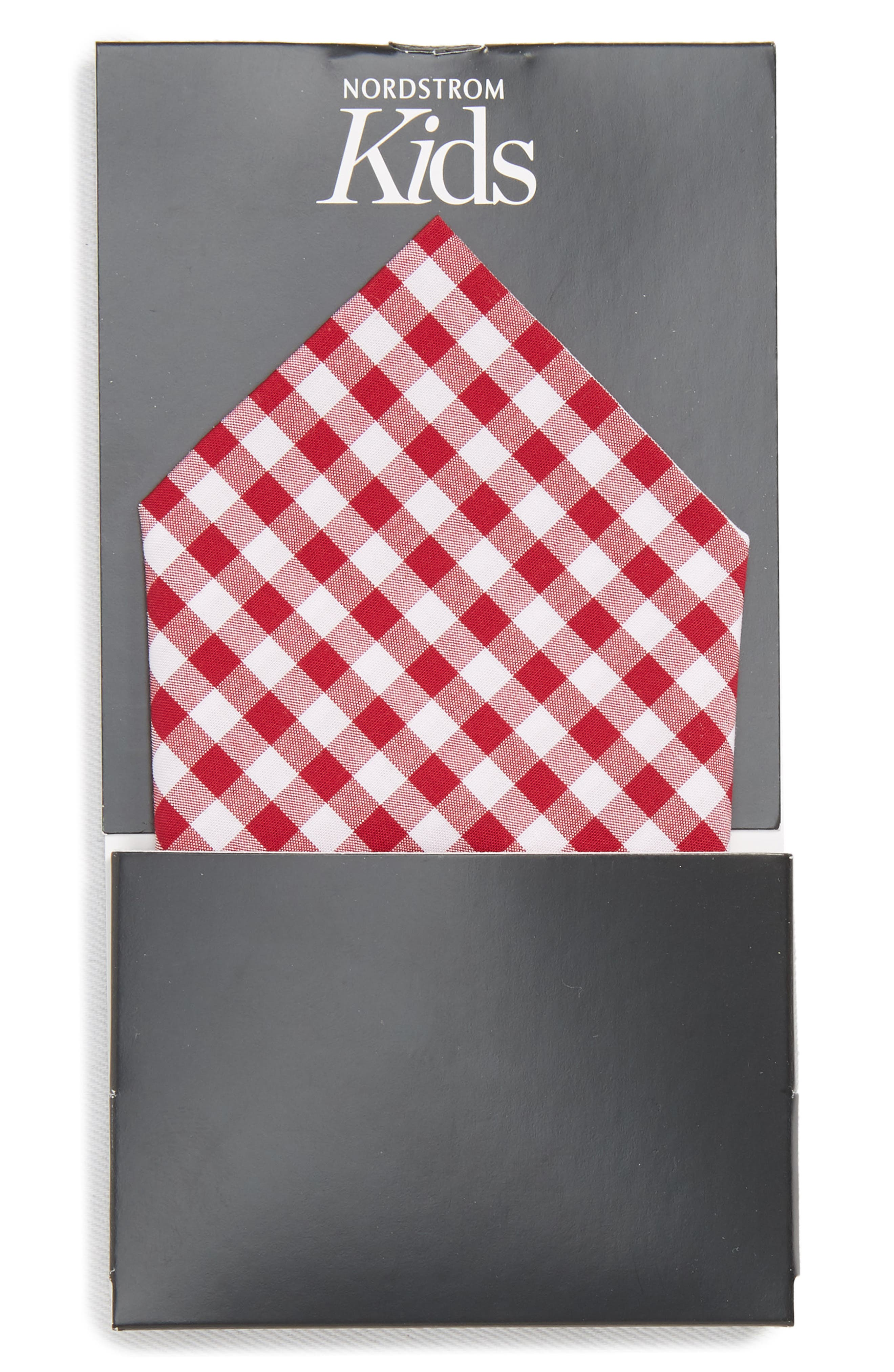 Check Pocket Square,                             Alternate thumbnail 2, color,                             600
