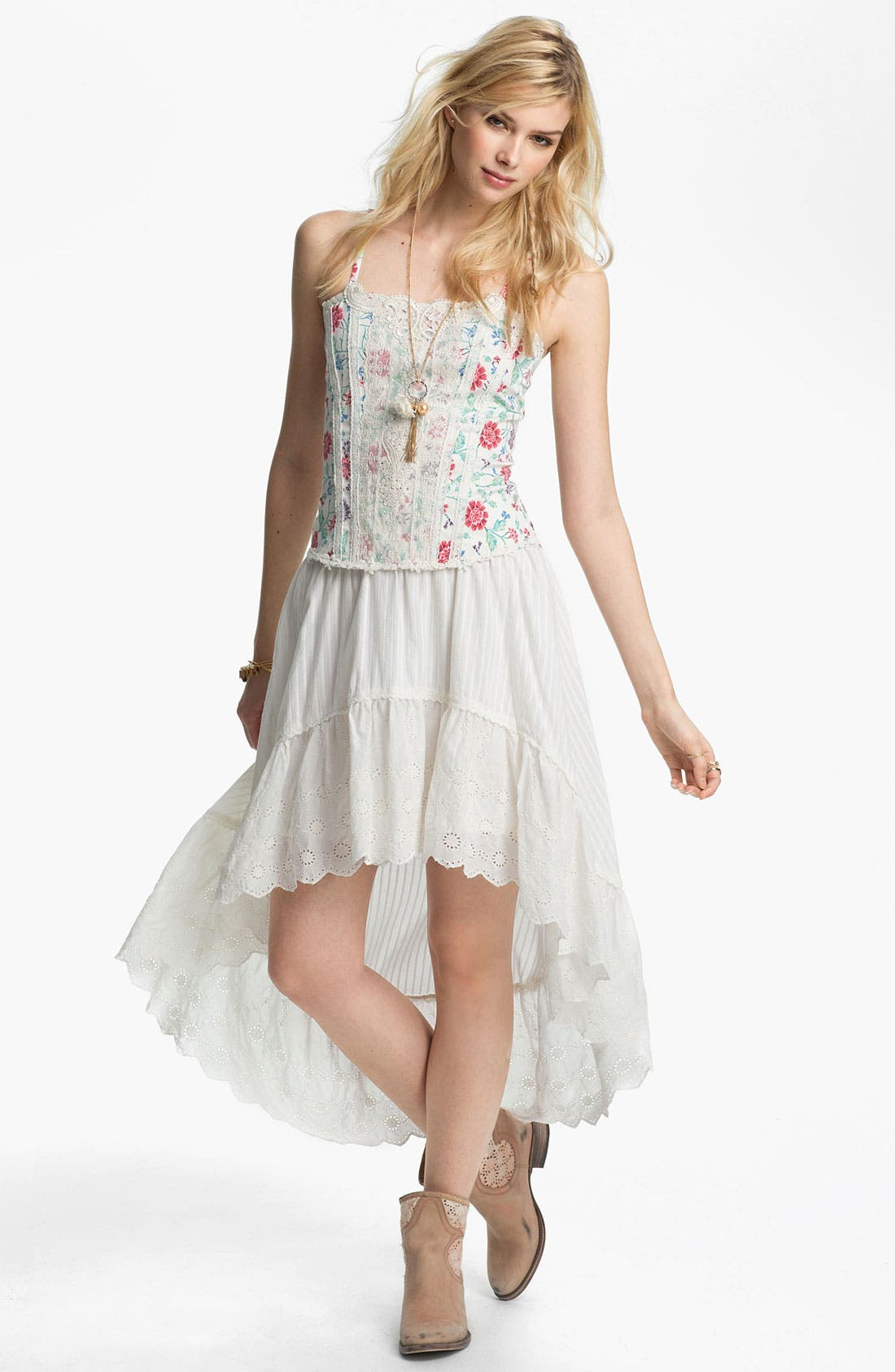 'Miss Lizzy' Floral Corset Camisole,                         Main,                         color, 900
