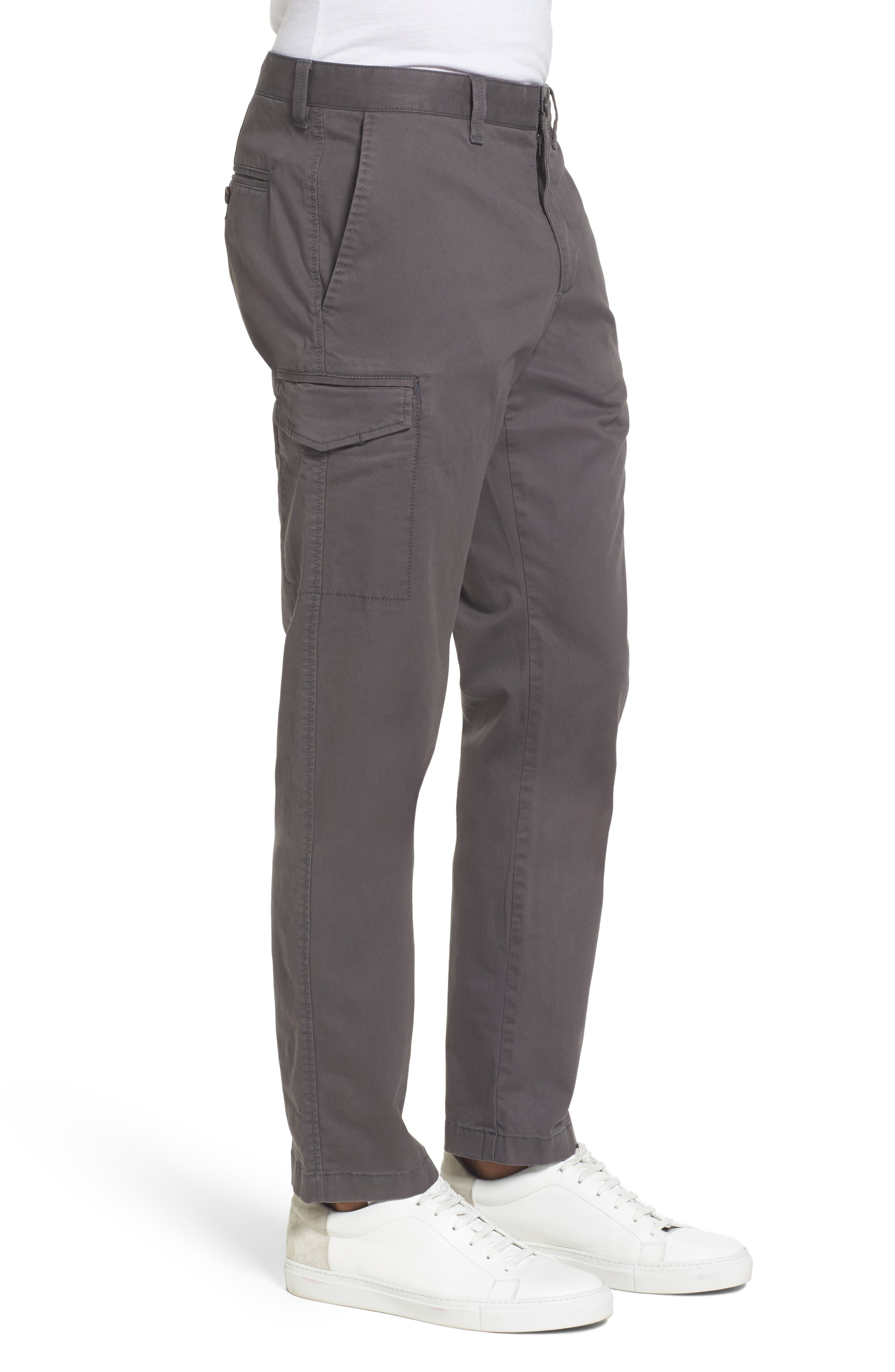 Regular Fit Cargo Pants,                             Alternate thumbnail 3, color,                             021