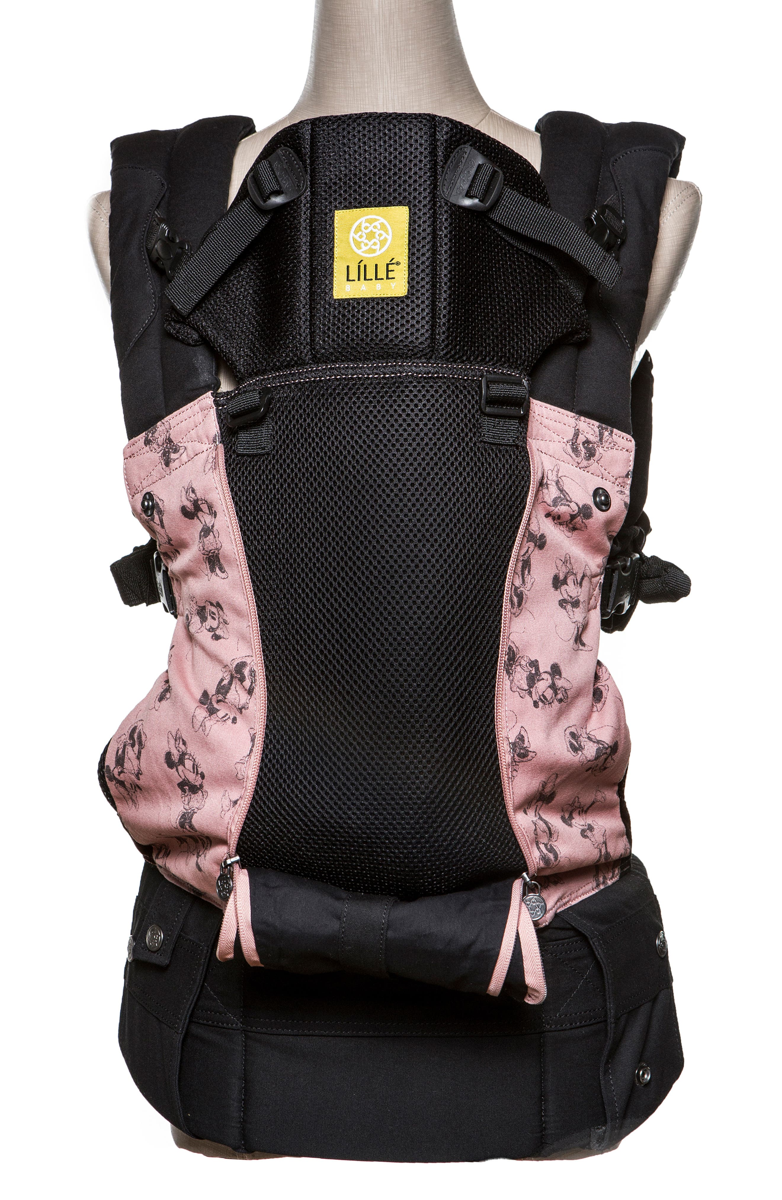 x Disney Complete All Seasons - Minnie Mouse Baby Carrier,                             Alternate thumbnail 2, color,                             PINK