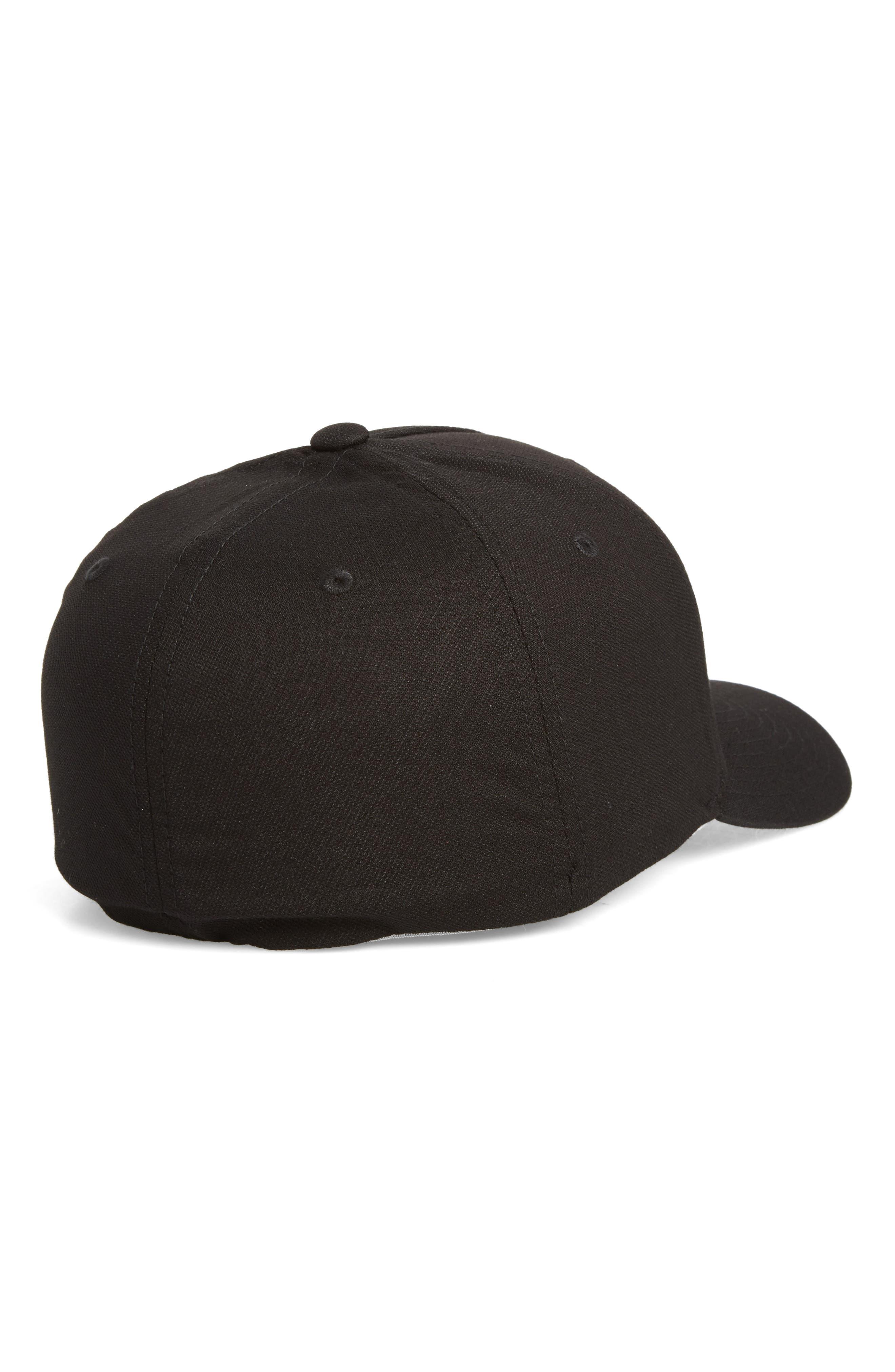Van Dyke Flex Fit Baseball Cap,                             Alternate thumbnail 2, color,                             001