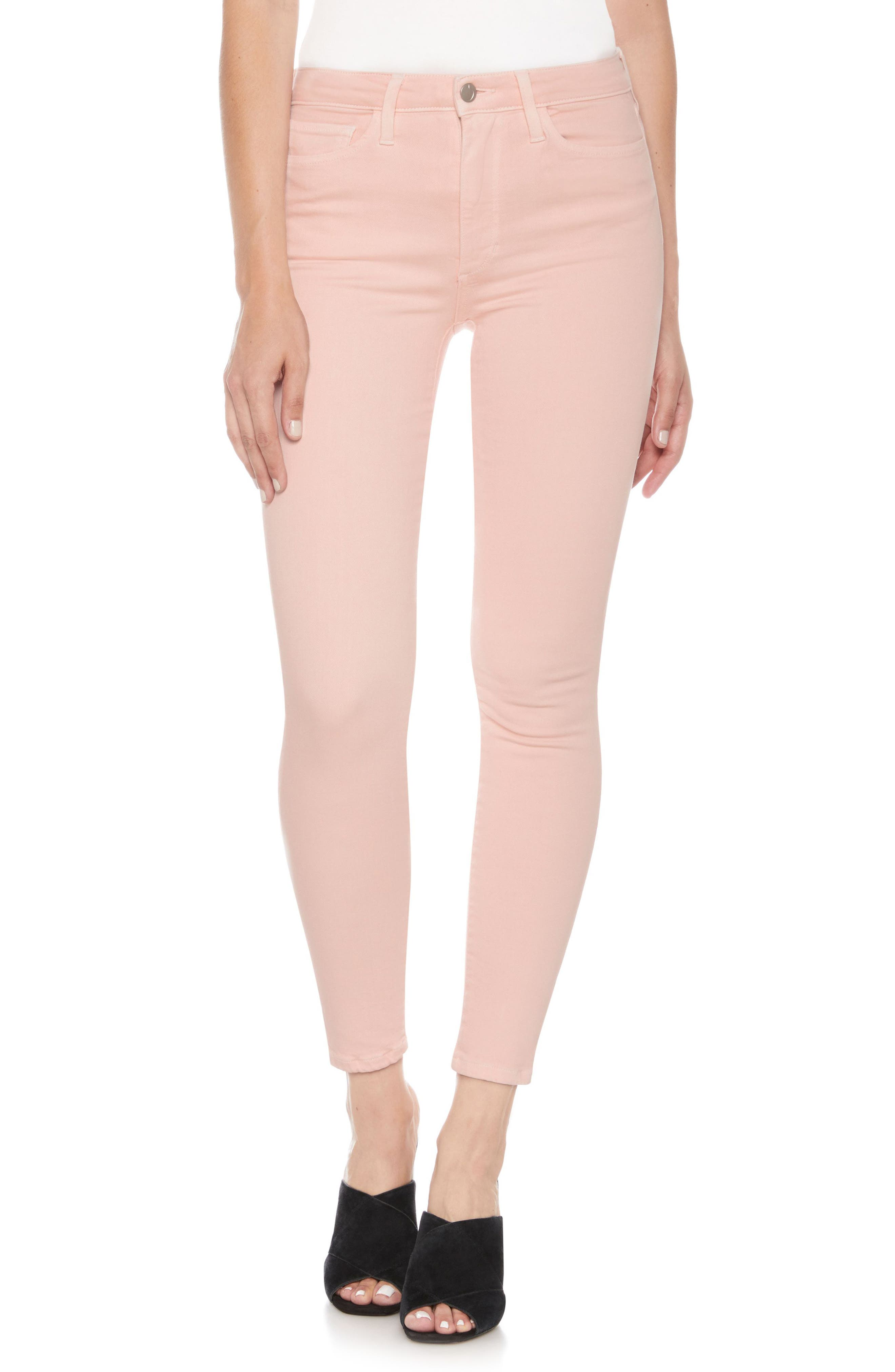 Charlie High Waist Ankle Skinny Jeans,                             Main thumbnail 3, color,