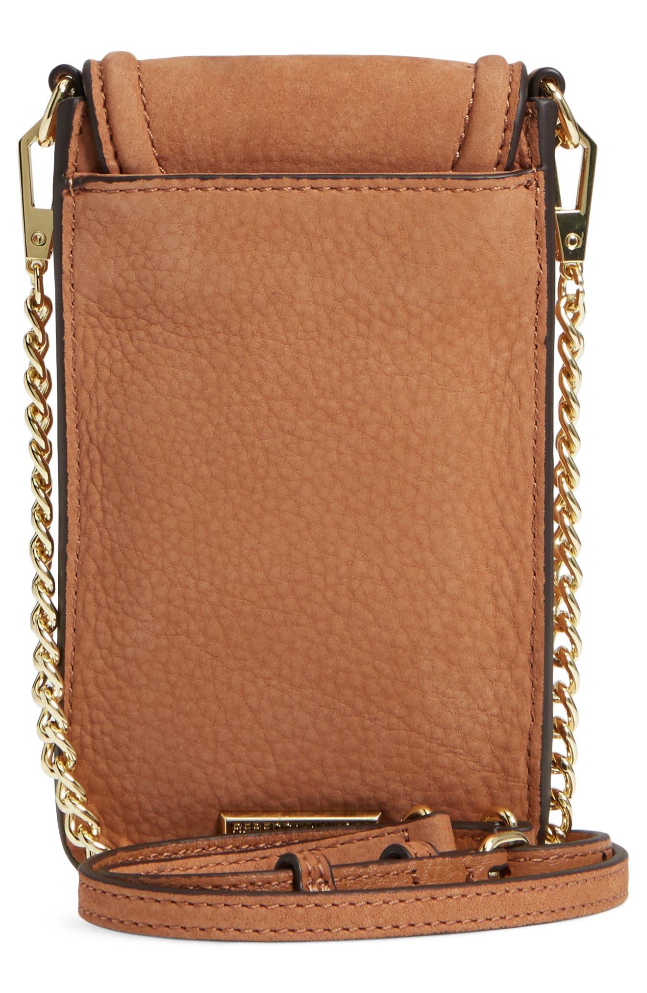 Darren Leather Phone Crossbody Bag,                             Alternate thumbnail 3, color,                             230