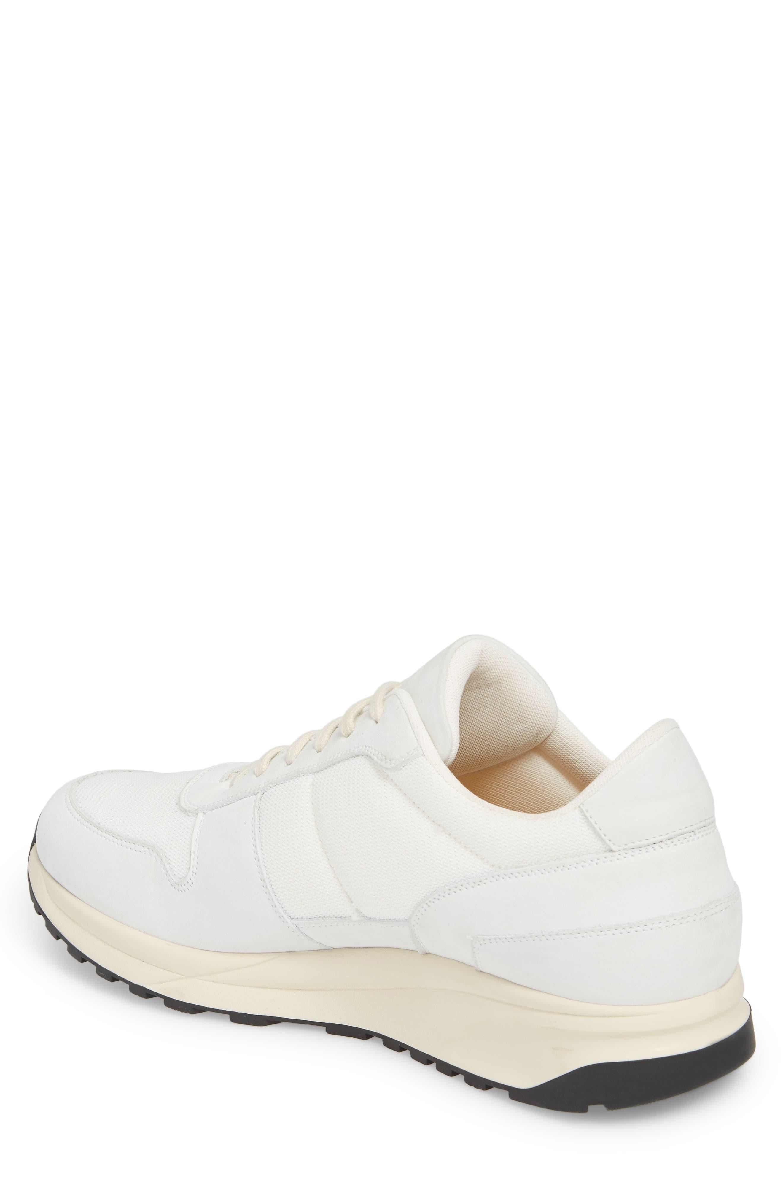 Track Vintage Sneaker,                             Alternate thumbnail 2, color,                             WHITE