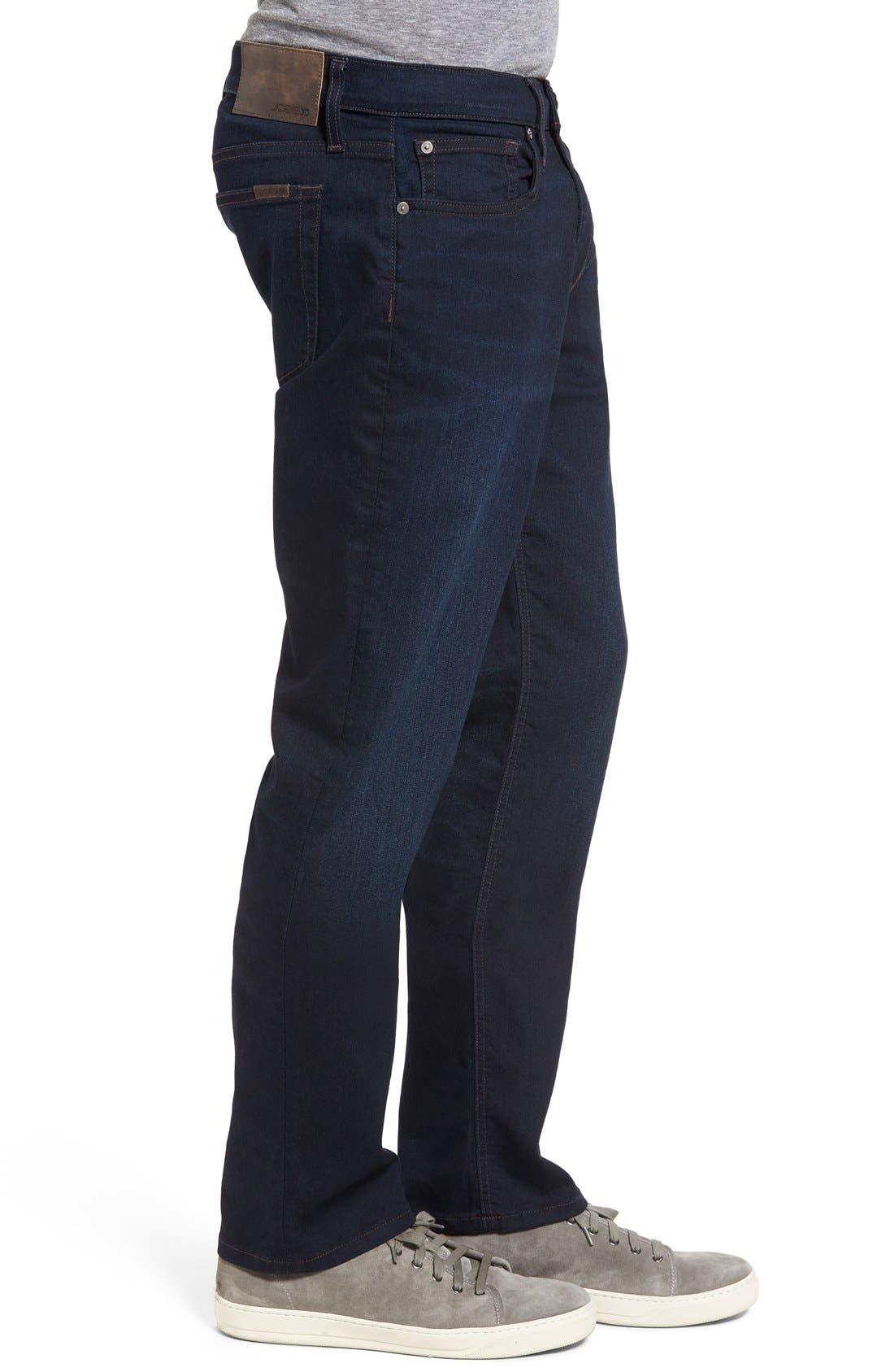 Brixton Kinetic Slim Straight Leg Jeans,                             Alternate thumbnail 4, color,                             400