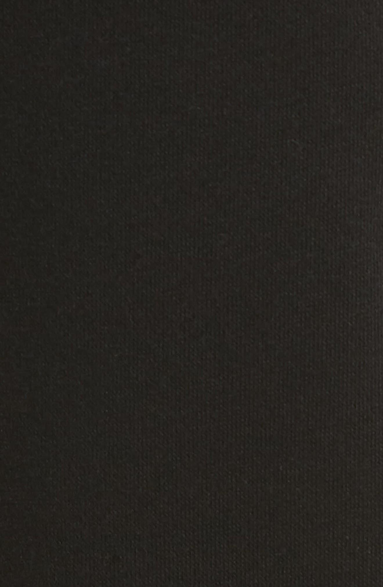 POLO RALPH LAUREN,                             Brushed Jersey Cotton Blend Jogger Pants,                             Alternate thumbnail 5, color,                             POLO BLACK