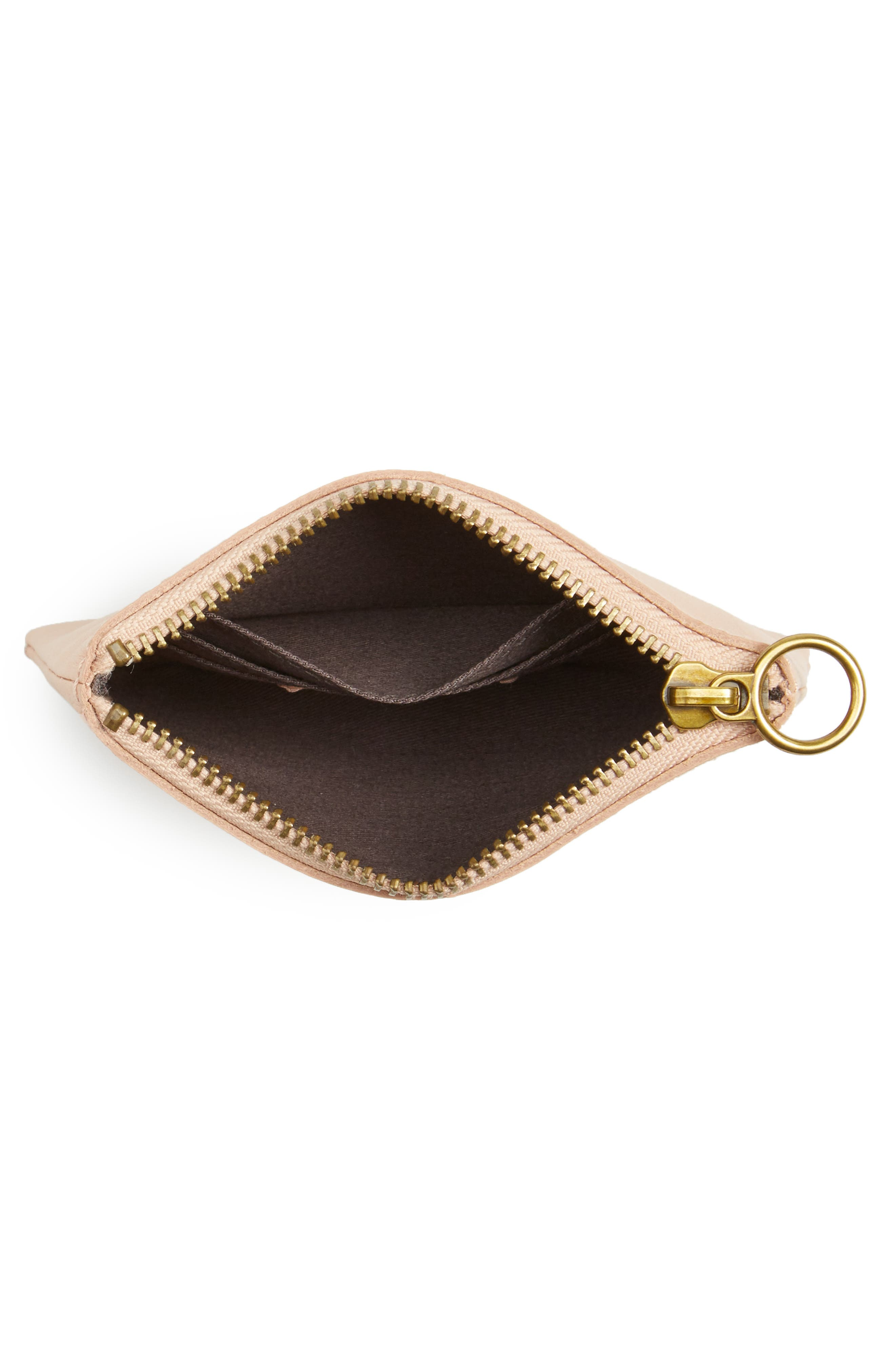 The Leather Pouch Wallet,                             Alternate thumbnail 3, color,