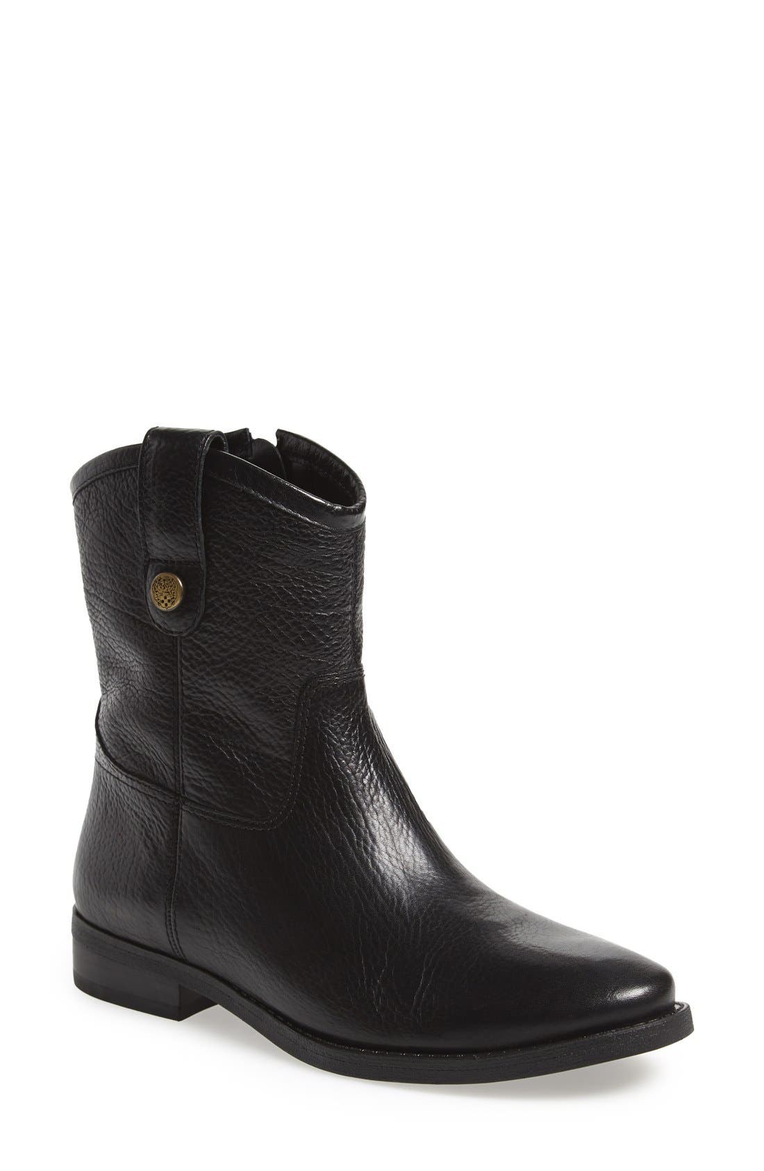 'Payatt' Short Riding Boot,                             Main thumbnail 1, color,                             001