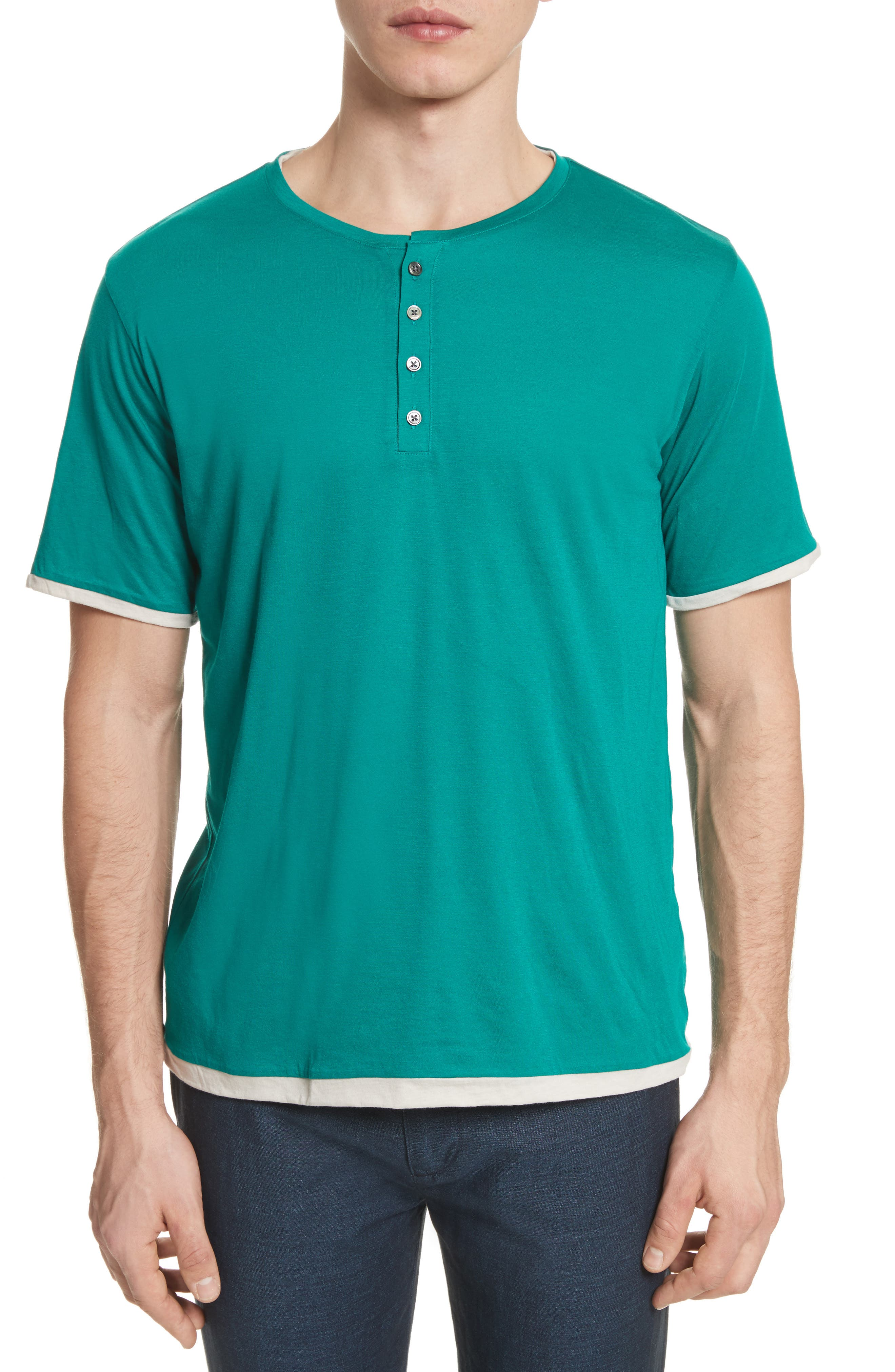 Henley T-Shirt,                         Main,                         color, 300