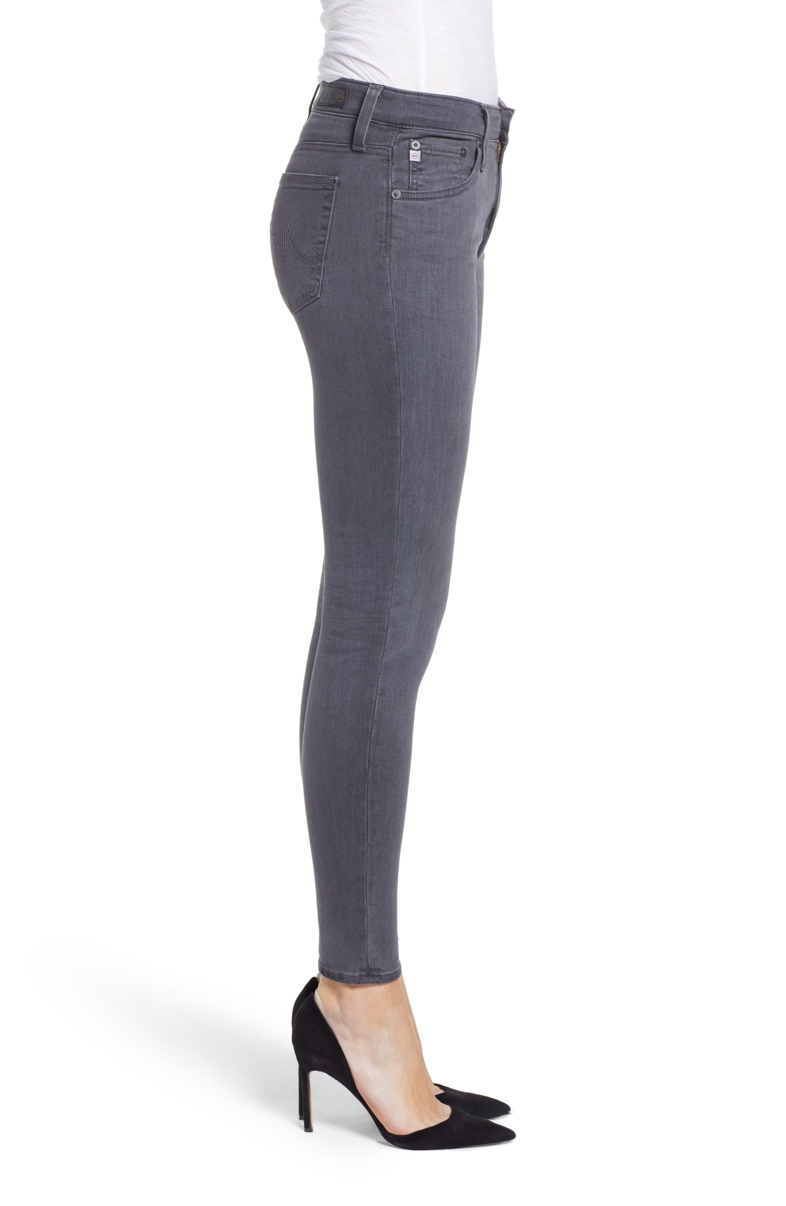 The Farrah High Waist Ankle Skinny Faux Leather Pants,                             Alternate thumbnail 10, color,