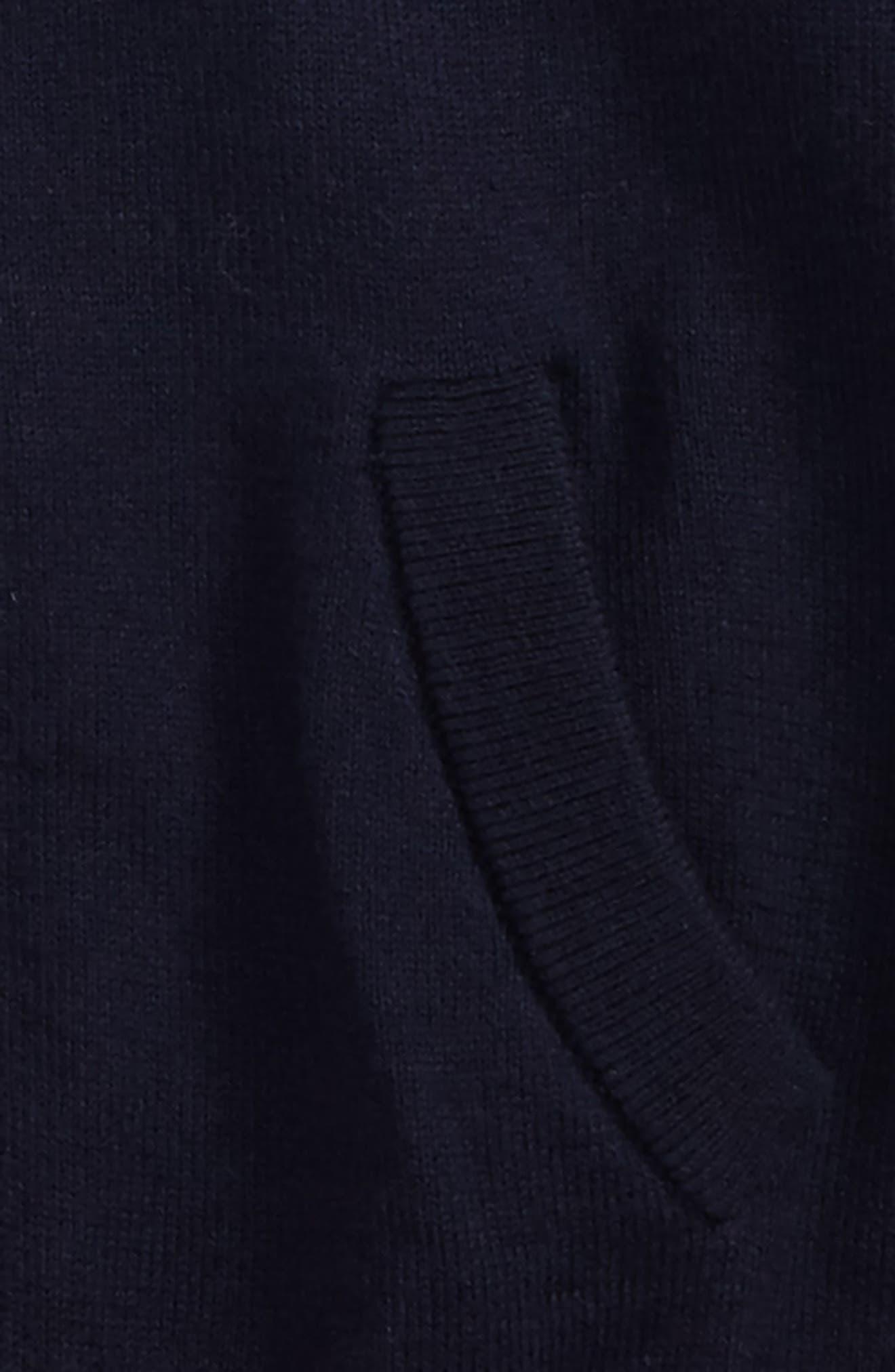 Mini Jaxson Front Zip Cotton Cardigan,                             Alternate thumbnail 2, color,                             410