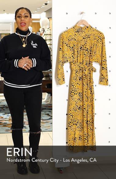 Abstract Animal Print Midi Dress, sales video thumbnail