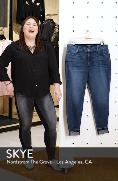 Social Standard Release Hem Ankle Skinny Jeans, sales video thumbnail