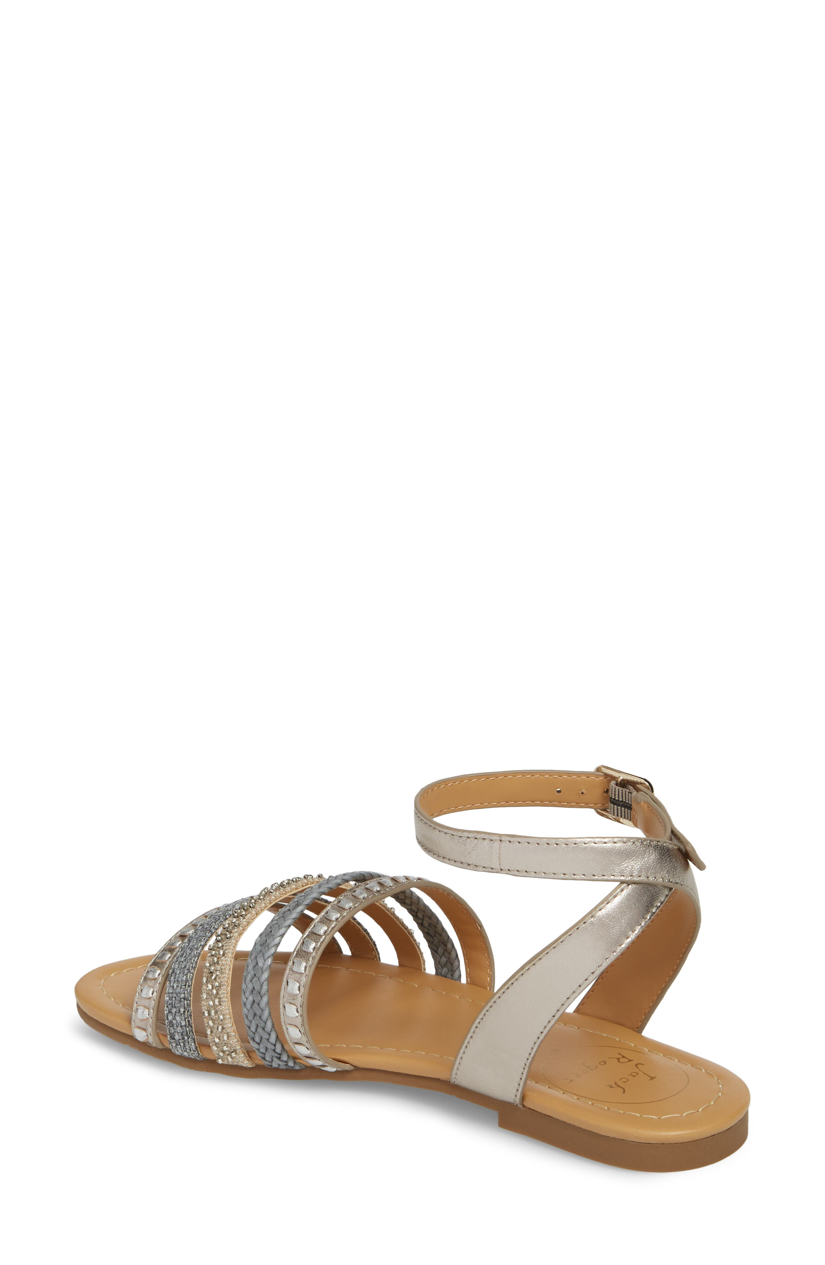 Hannah Braided Embellished Sandal,                             Alternate thumbnail 2, color,                             040