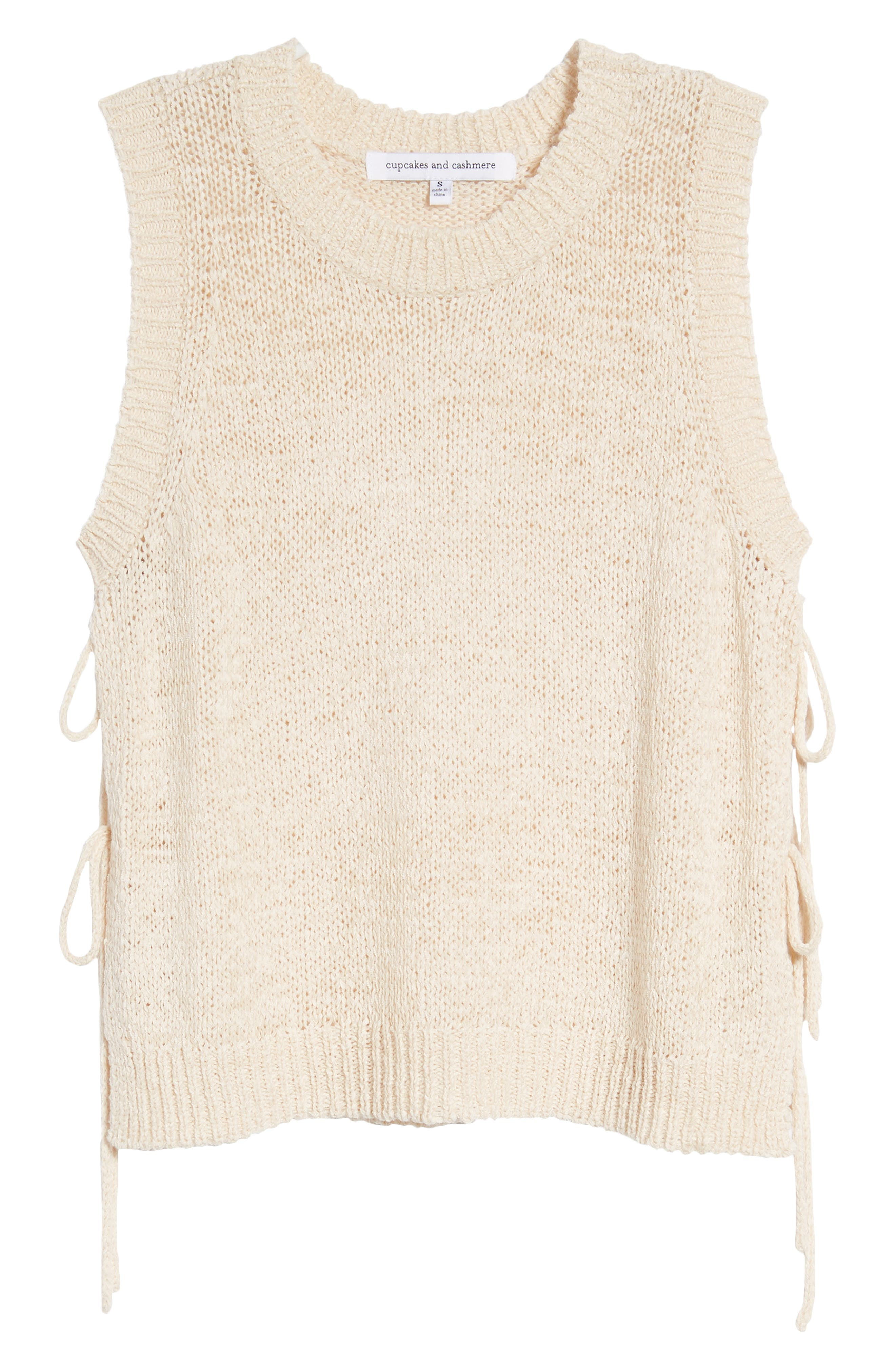 CUPCAKES AND CASHMERE,                             Chantell Sweater Tank,                             Alternate thumbnail 7, color,                             250