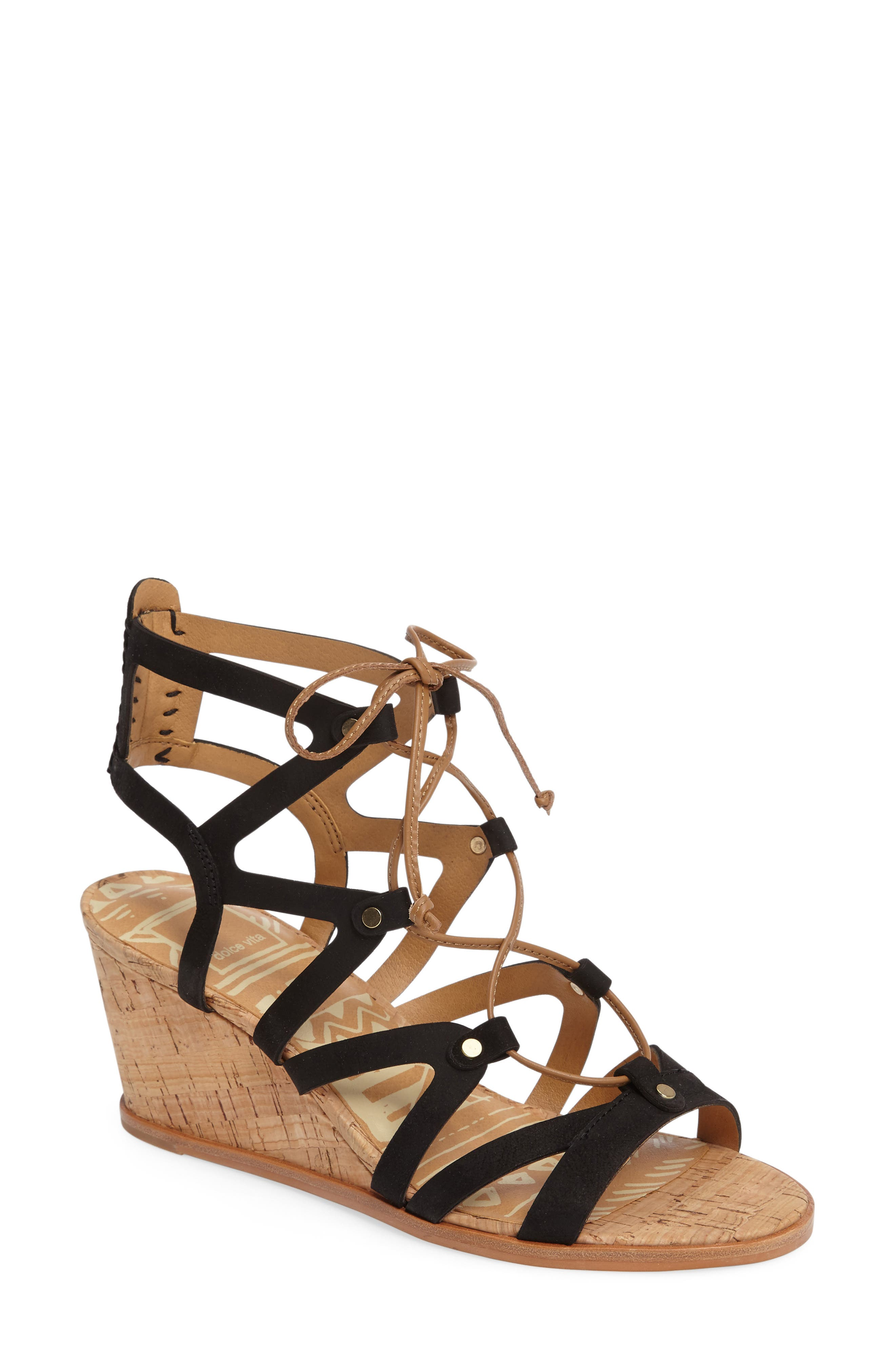 Lynnie Wedge Sandal,                         Main,                         color,