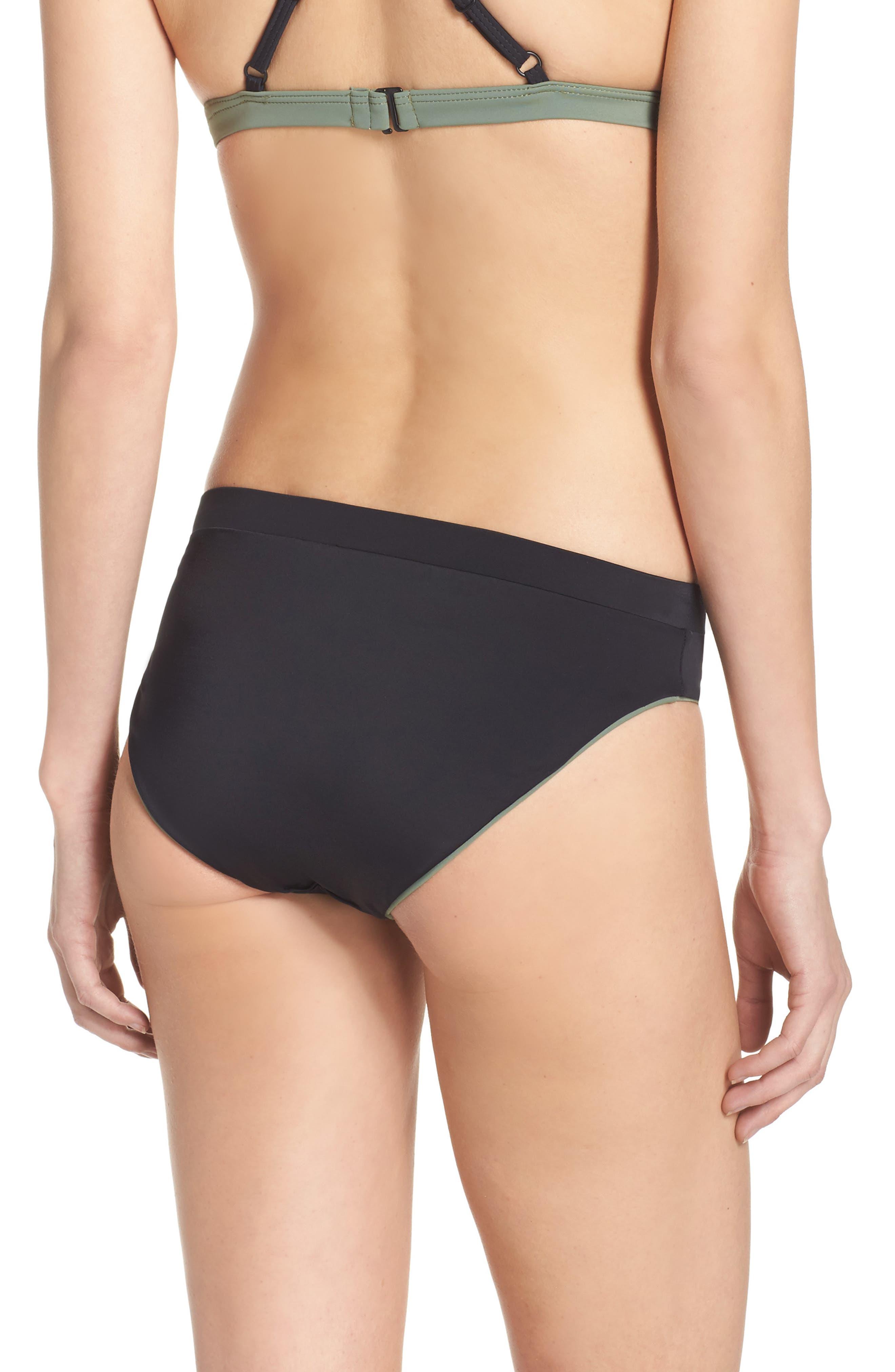 Reversible Bikini Bottoms,                             Alternate thumbnail 3, color,                             001