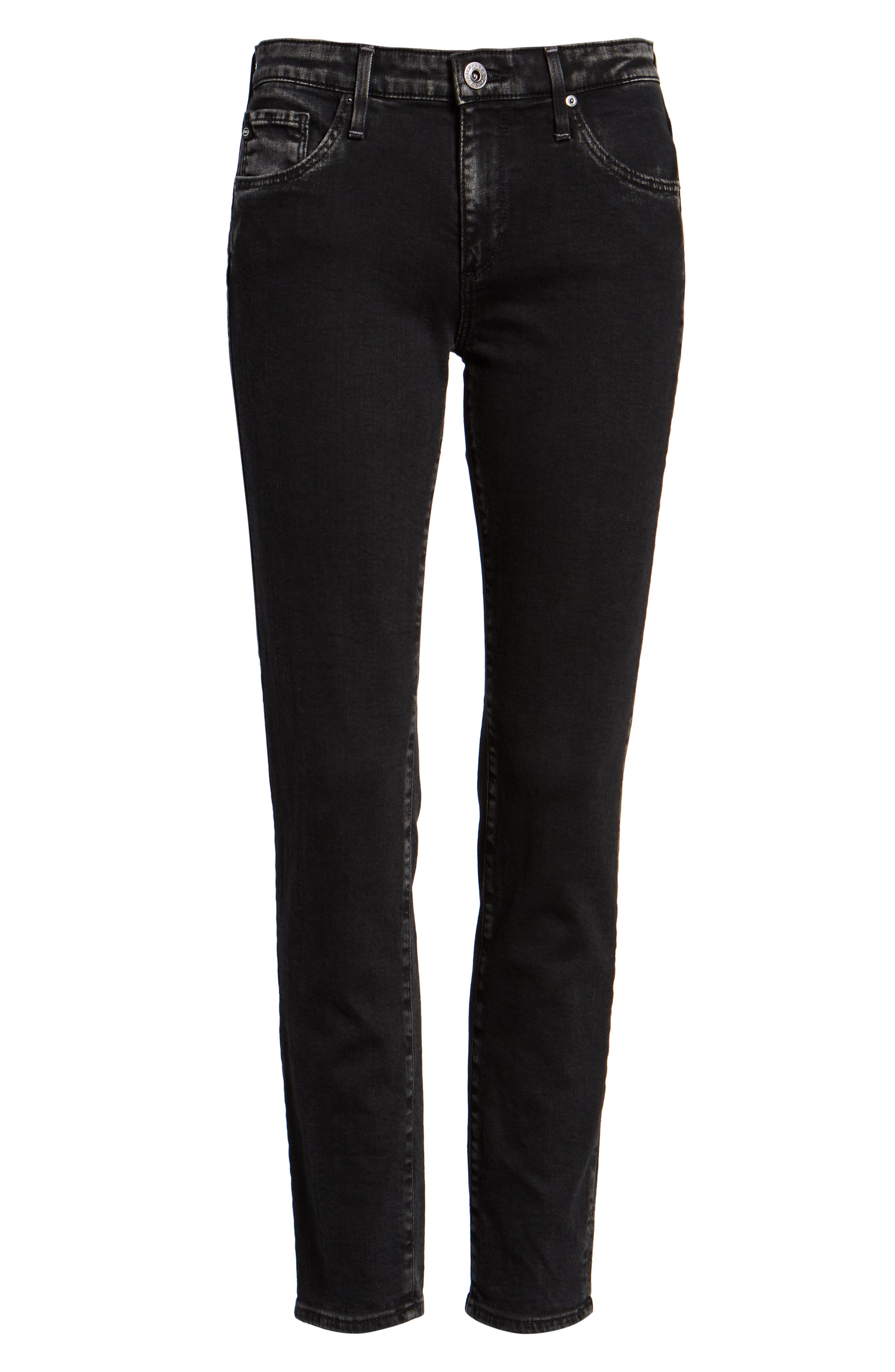 The Legging Ankle Super Skinny Jeans,                             Alternate thumbnail 7, color,                             ACRIMONY