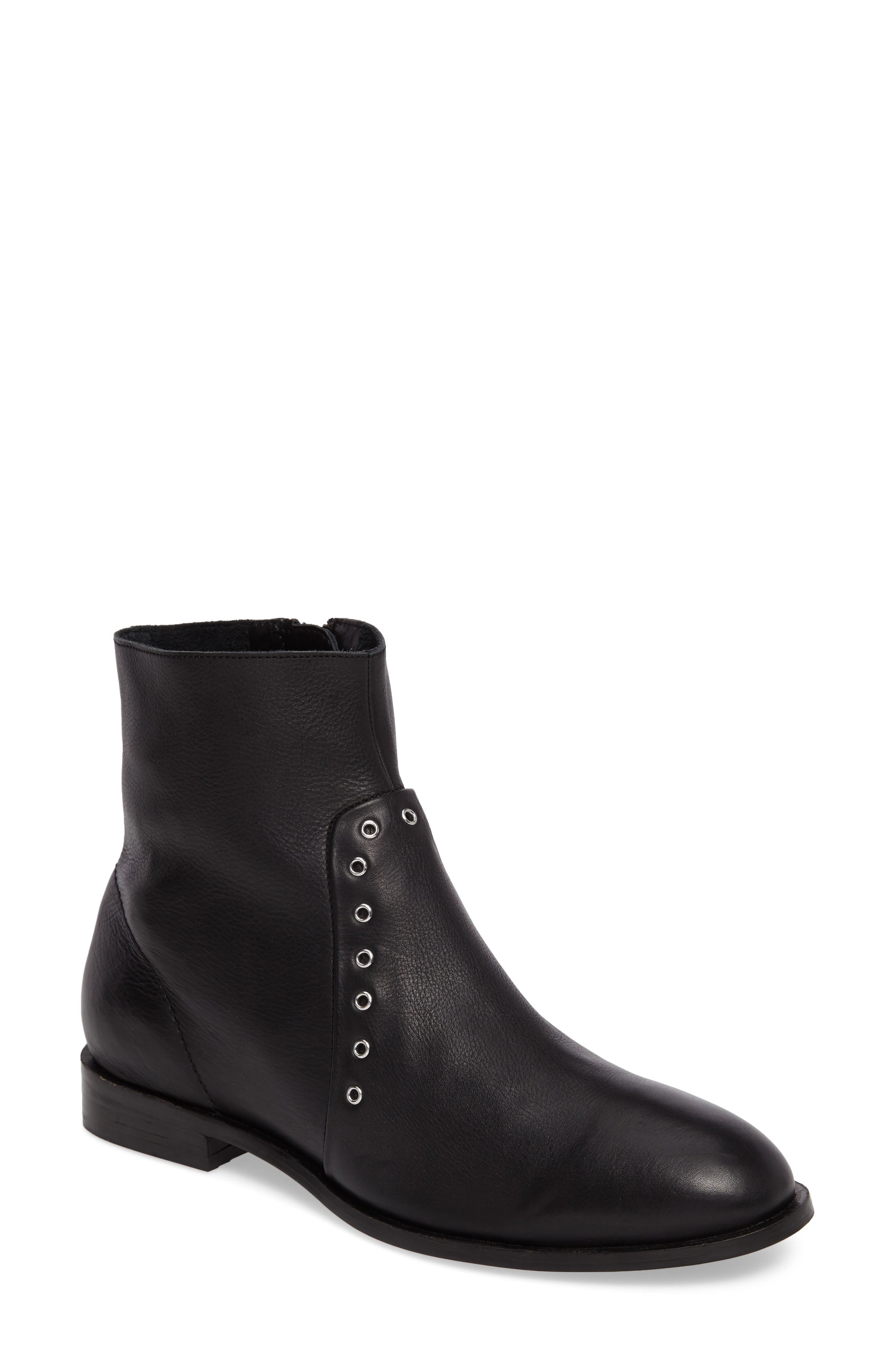 Angel Studded Boot,                             Main thumbnail 1, color,                             001