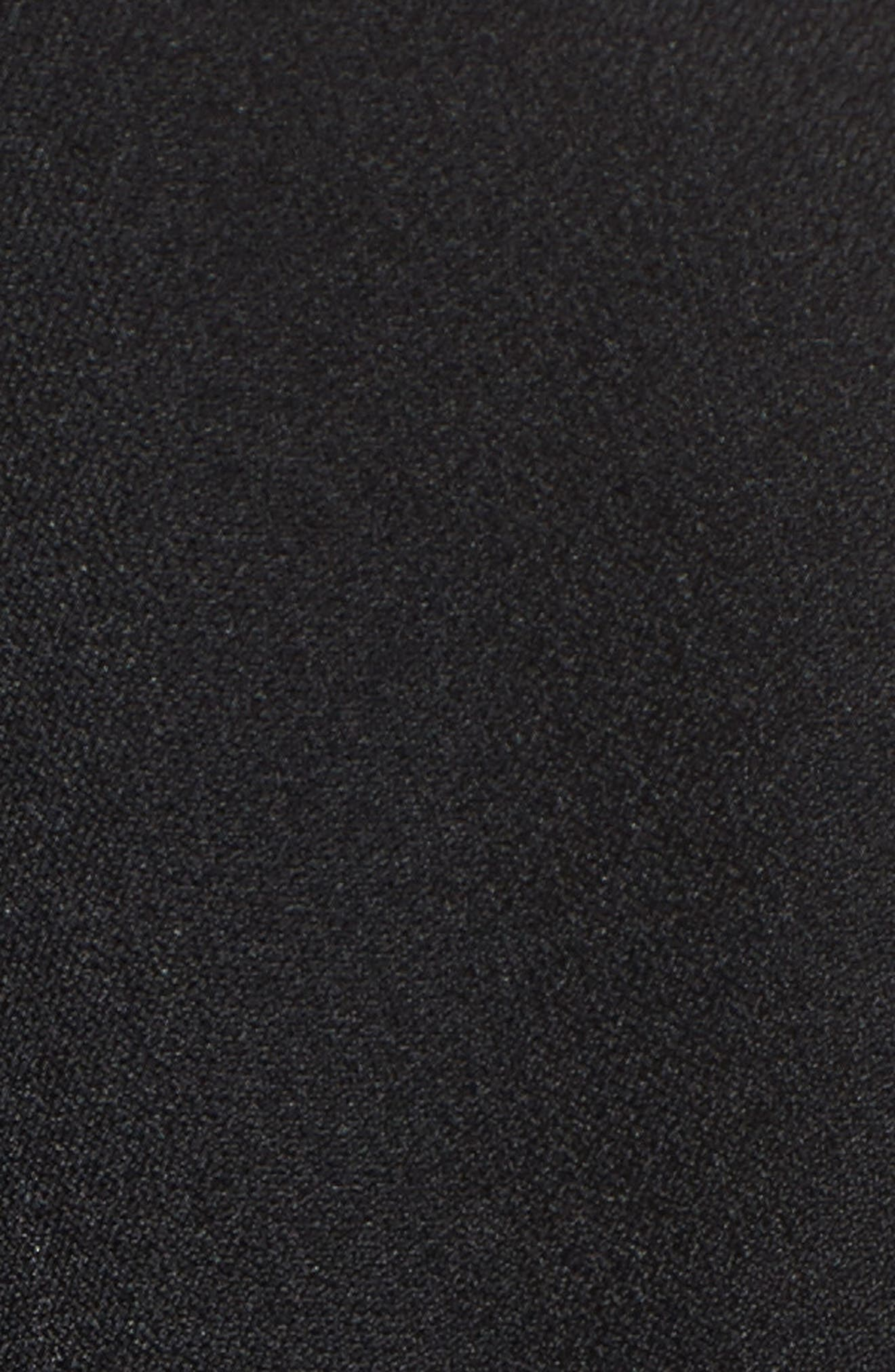 Open Front Jacket,                             Alternate thumbnail 5, color,                             BLACK