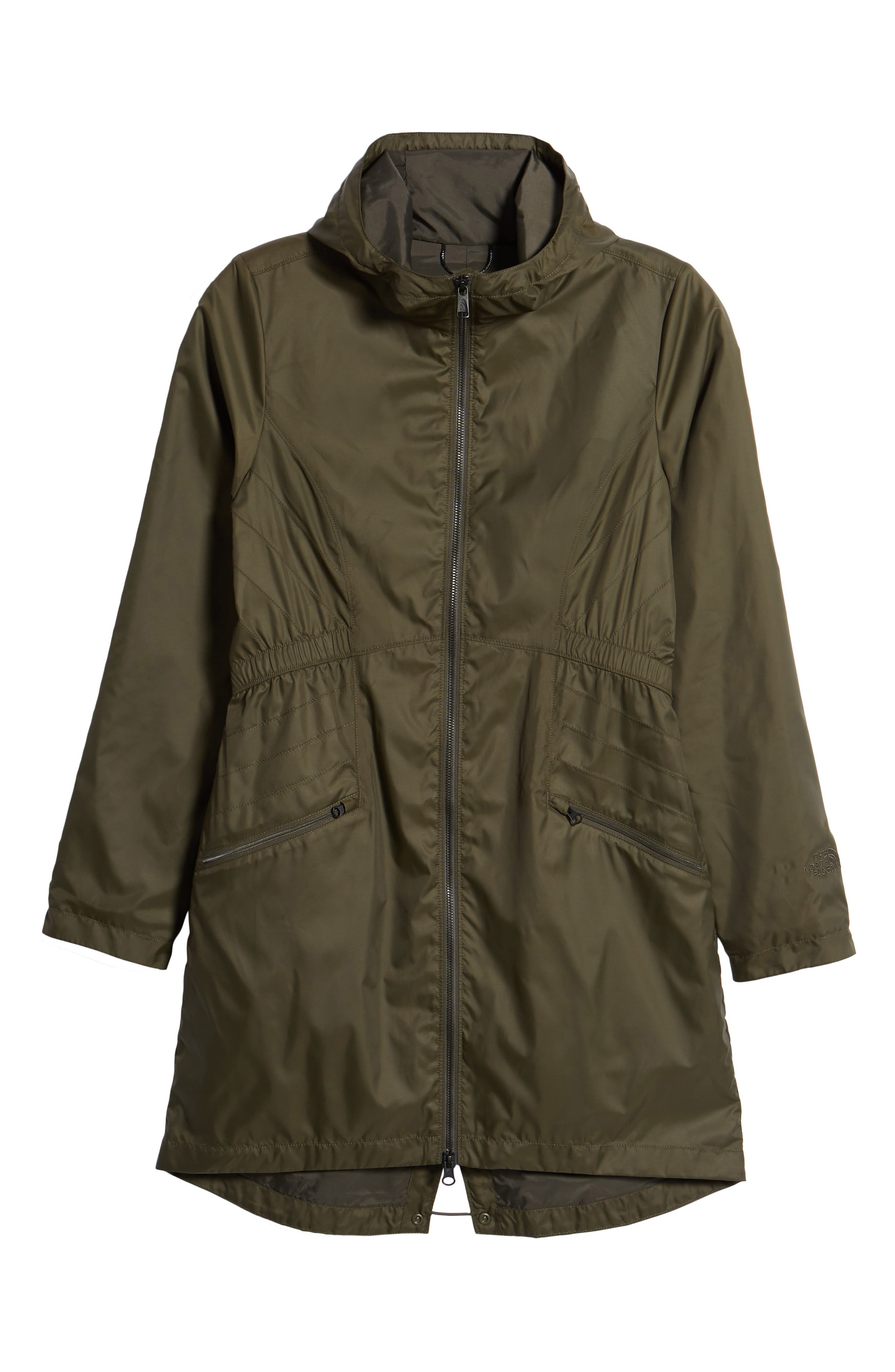 Rissy 2 Wind Resistant Jacket,                             Alternate thumbnail 6, color,                             NEW TAUPE GREEN